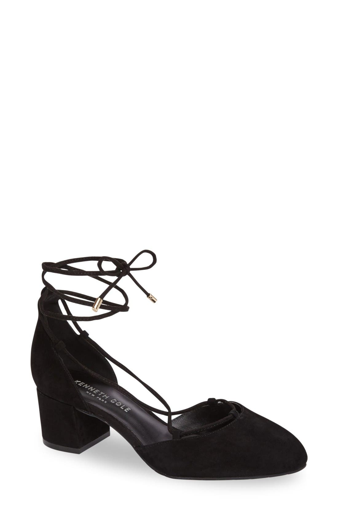 KENNETH COLE NEW YORK Toniann Lace-Up Pump
