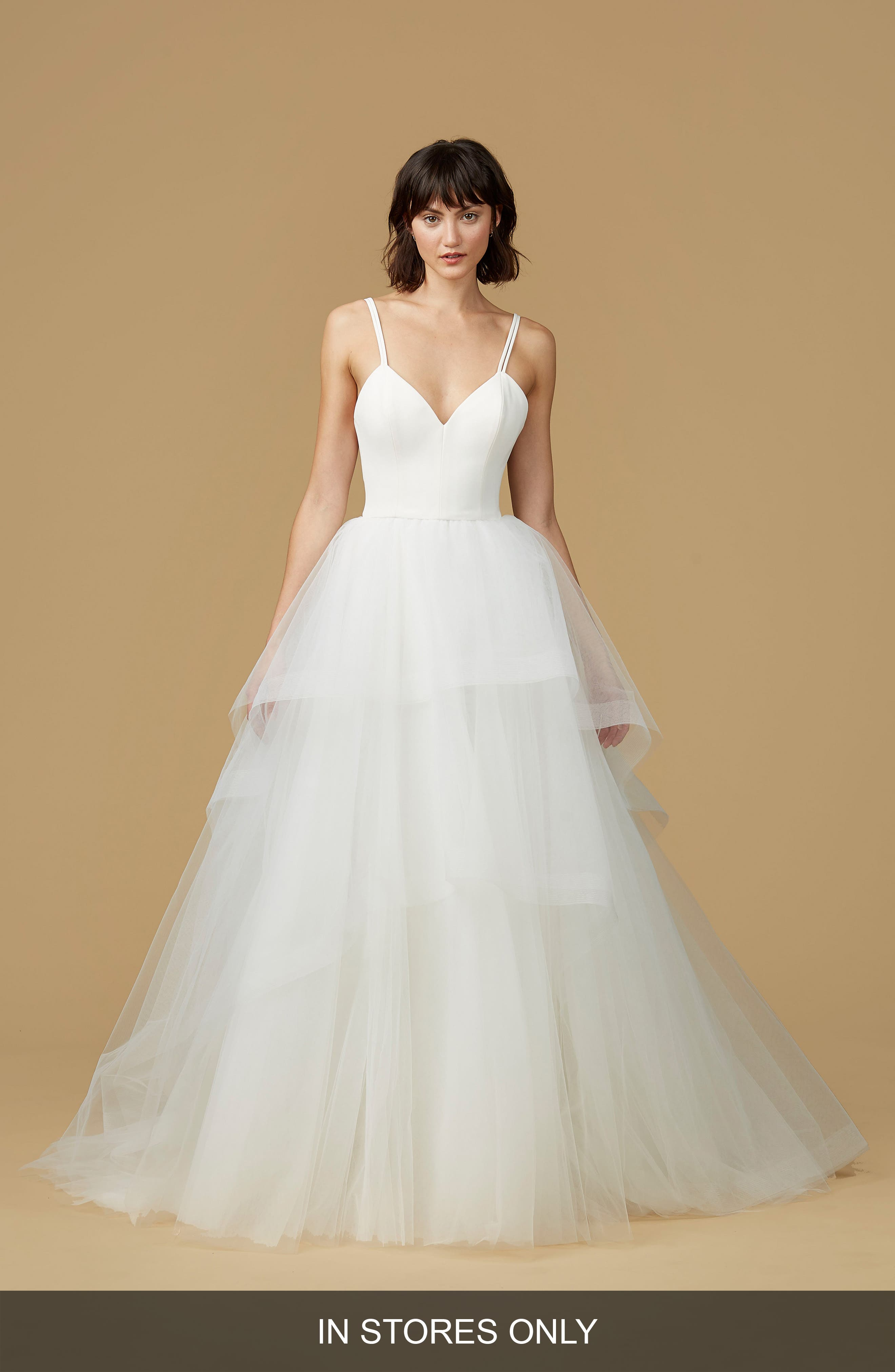 nouvelle AMSALE Mischa Strappy Tulle Ballgown (In Stores Only)