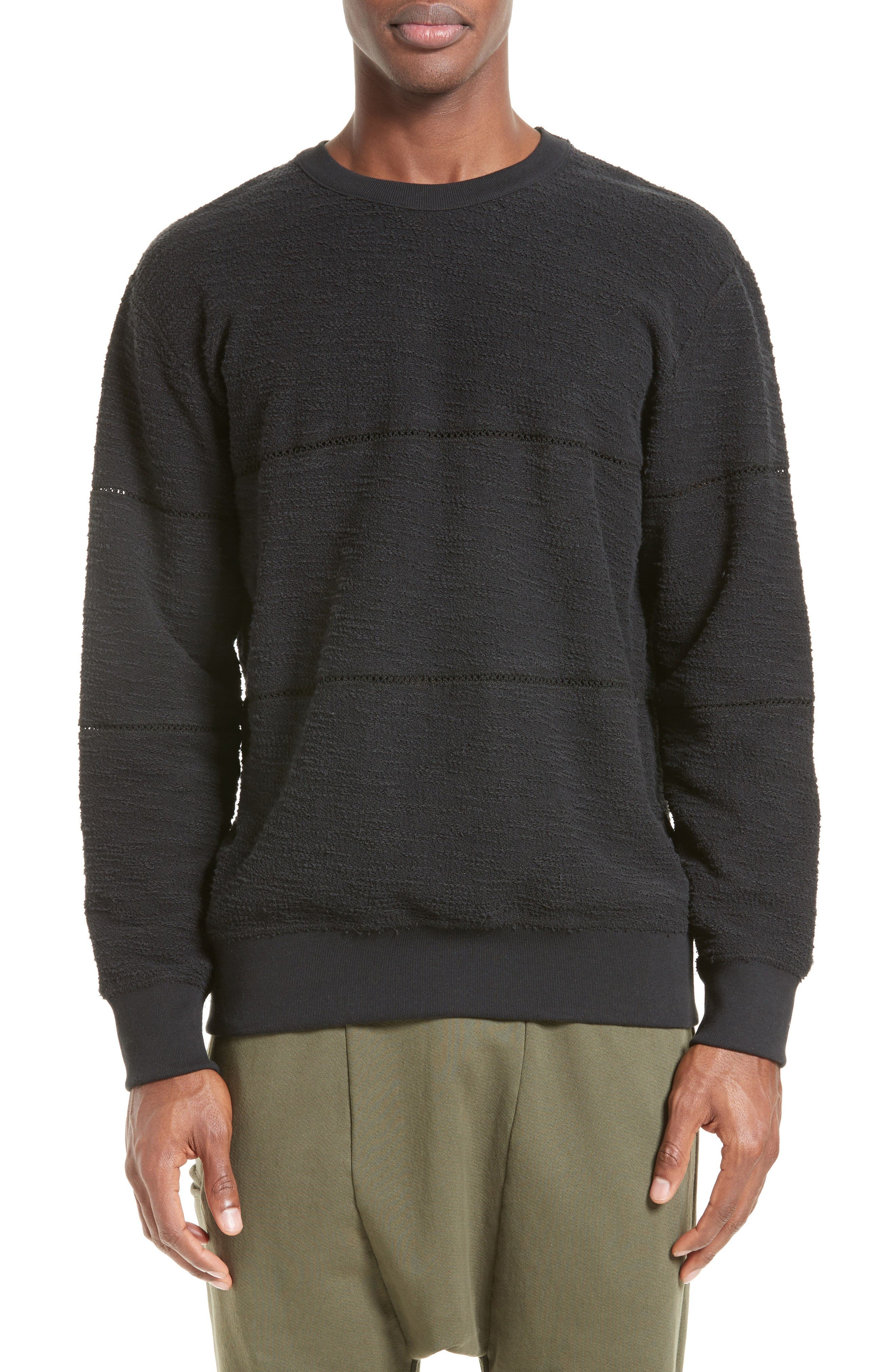 DRIFTER Prodigy Slub Knit Sweatshirt