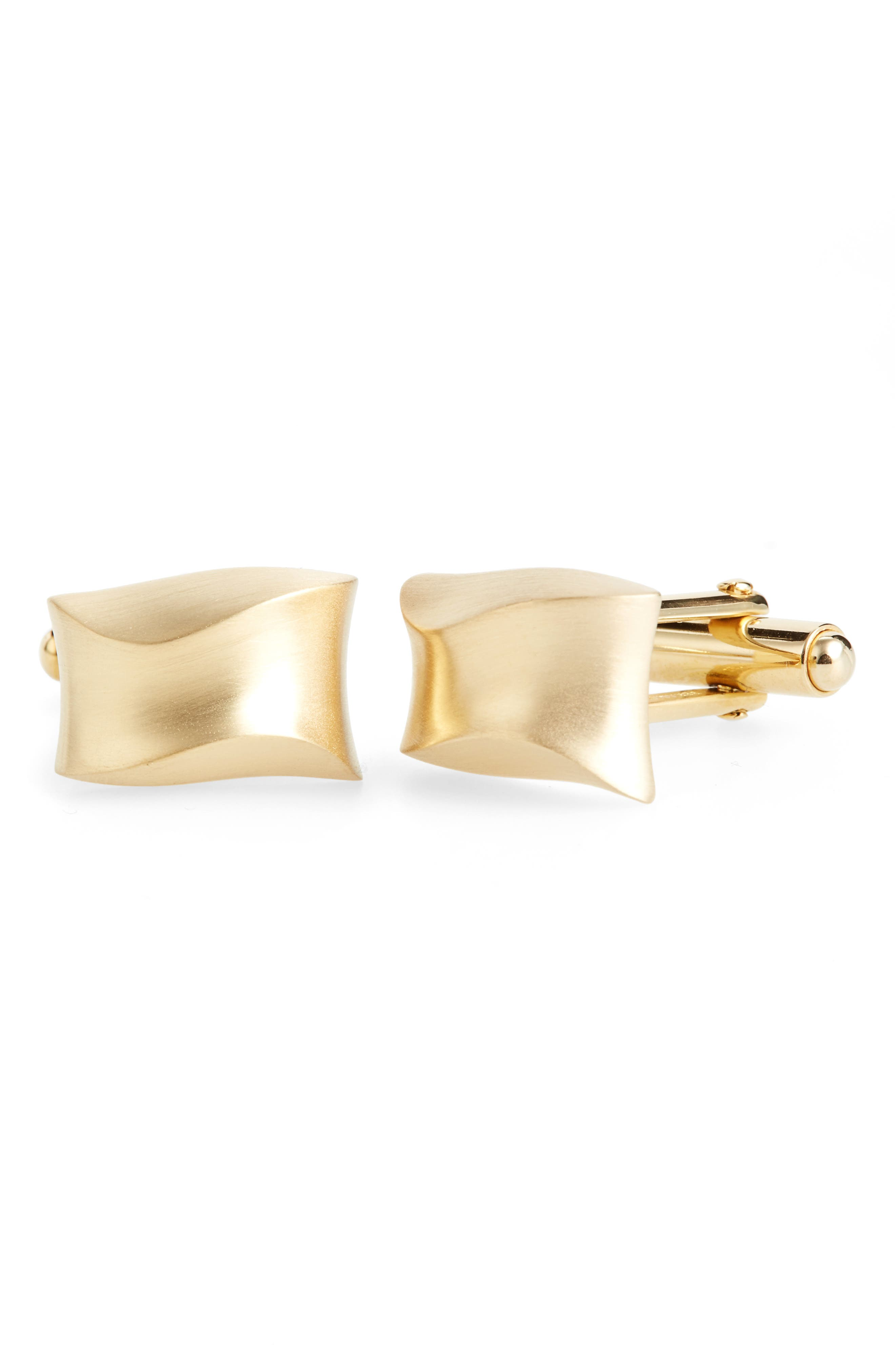 Lanvin Curved Cuff Links