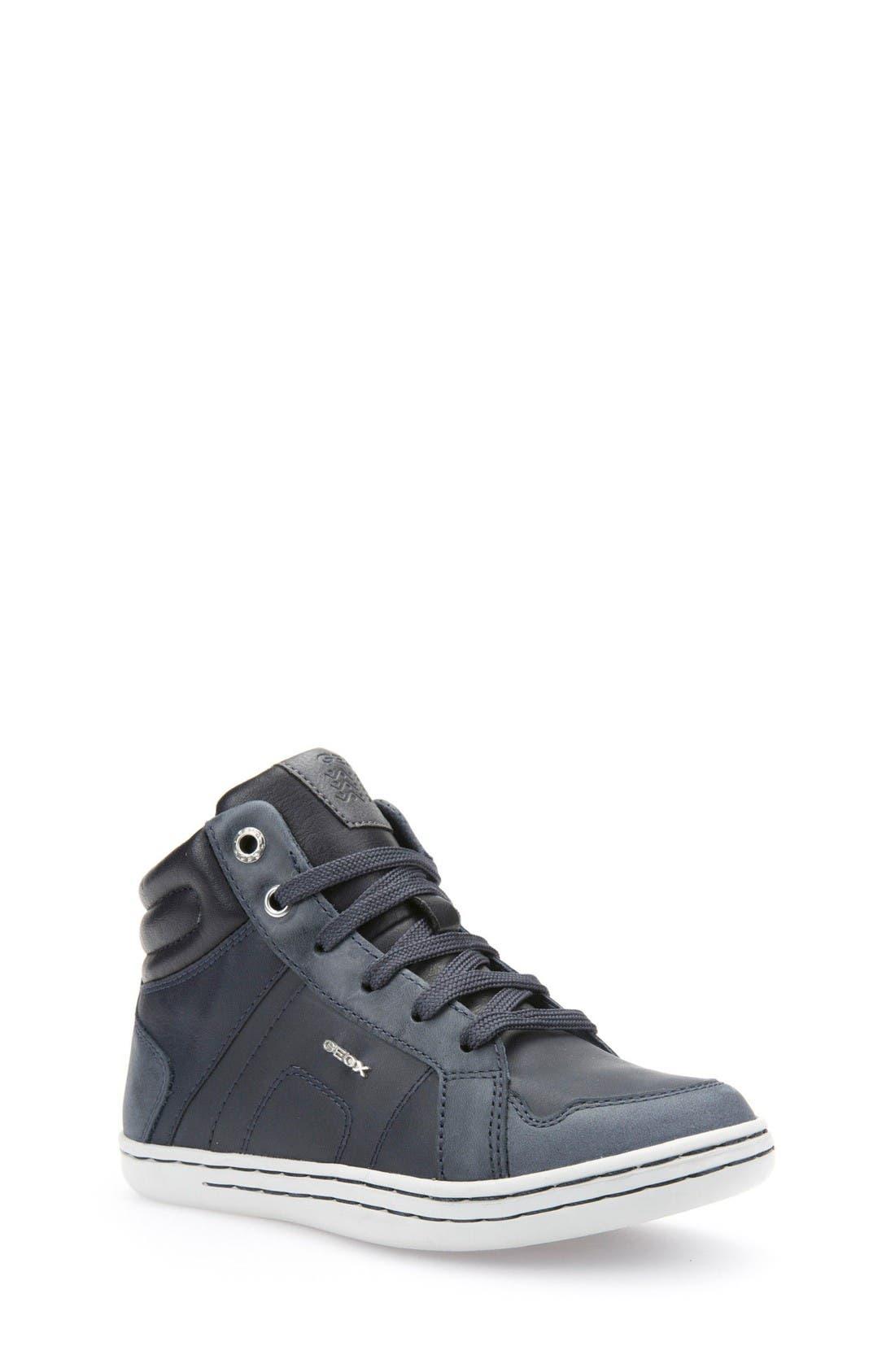 Geox 'Garcia' High TopSneaker (Toddler, Little Kid & Big Kid)