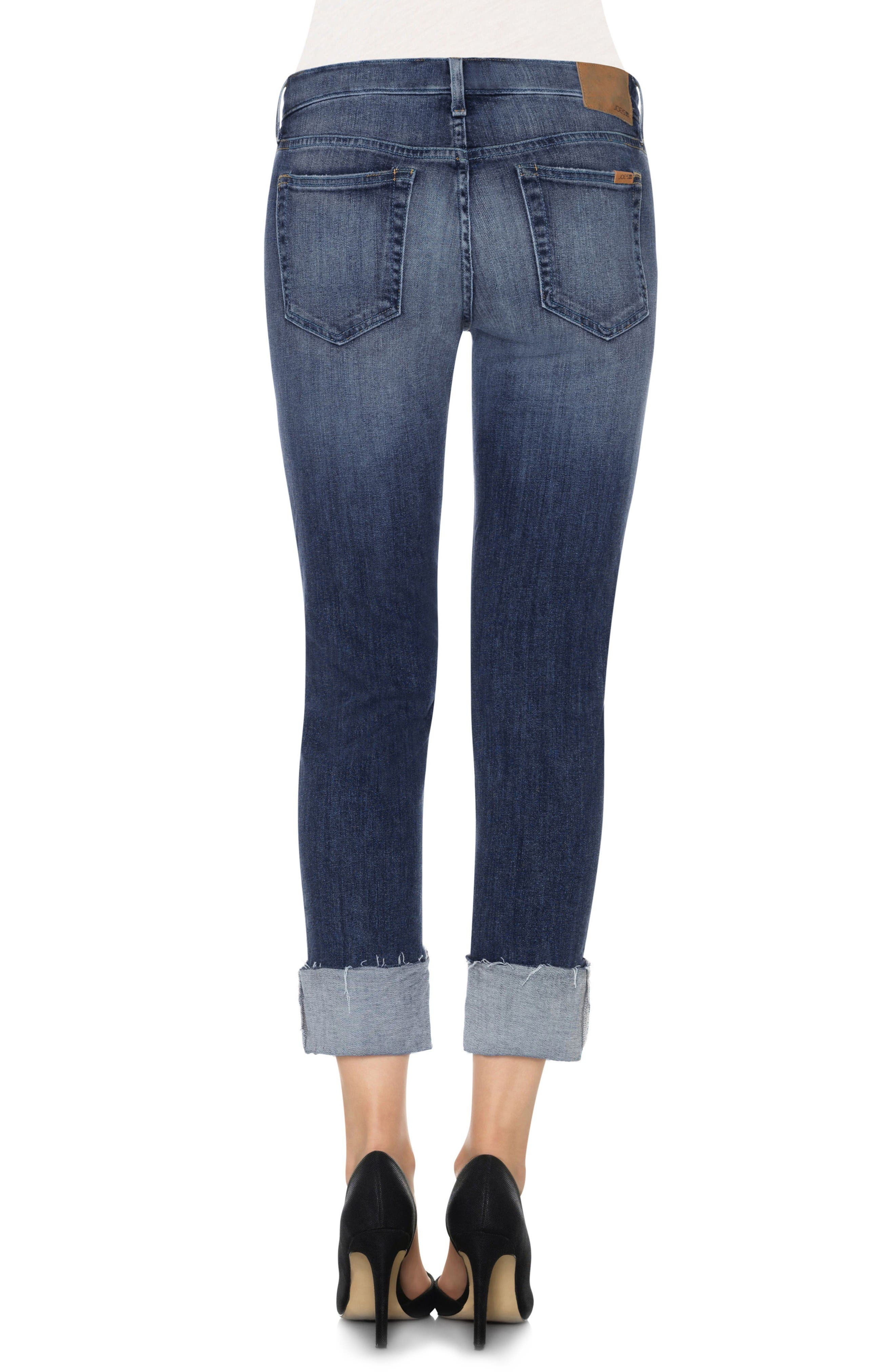 Alternate Image 2  - Joes Collectors Edition - Smith Distressed Crop Boyfriend Jeans (Dionne)