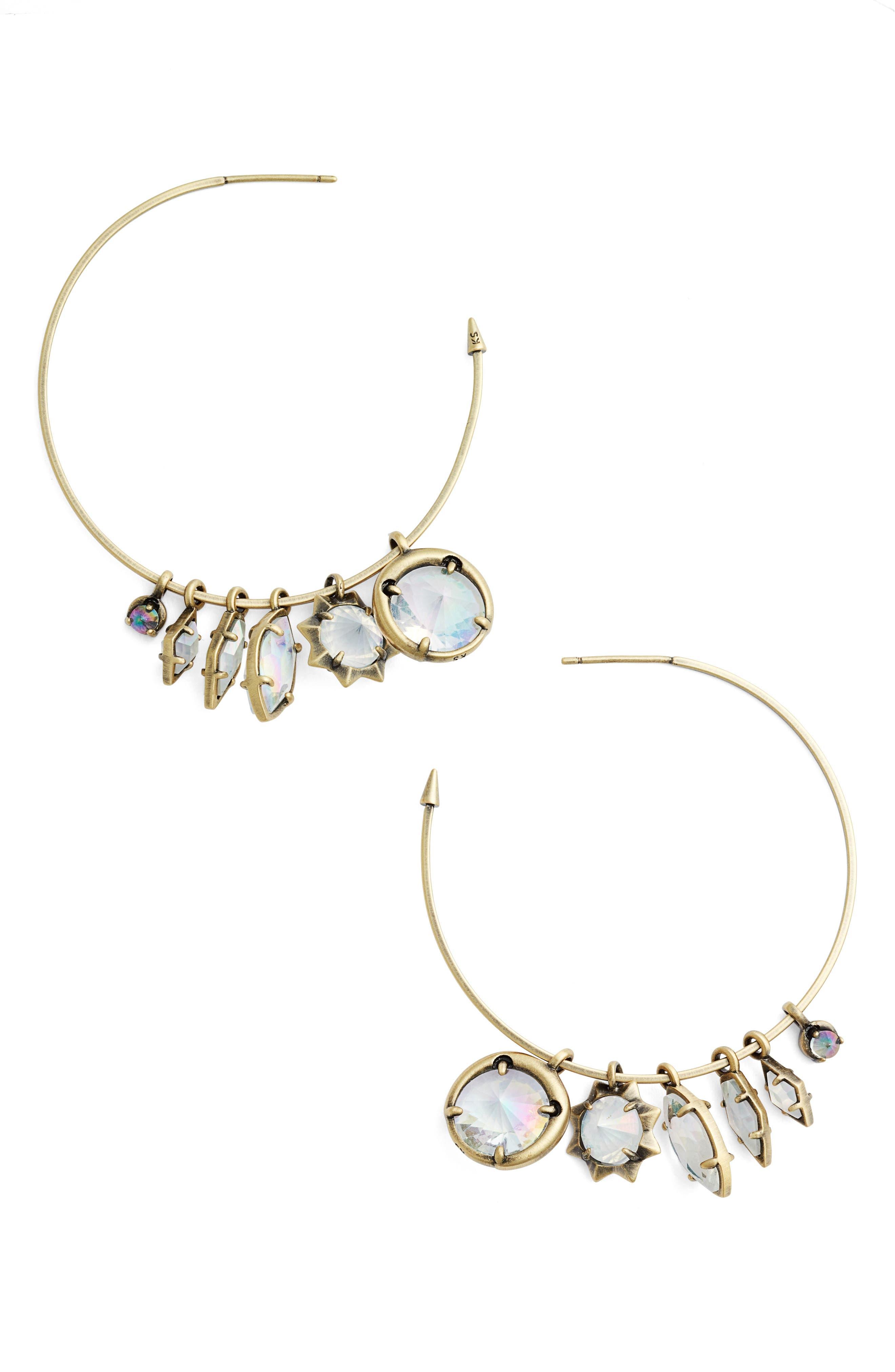 Main Image - Kendra Scott Alyssa Hoop Earrings