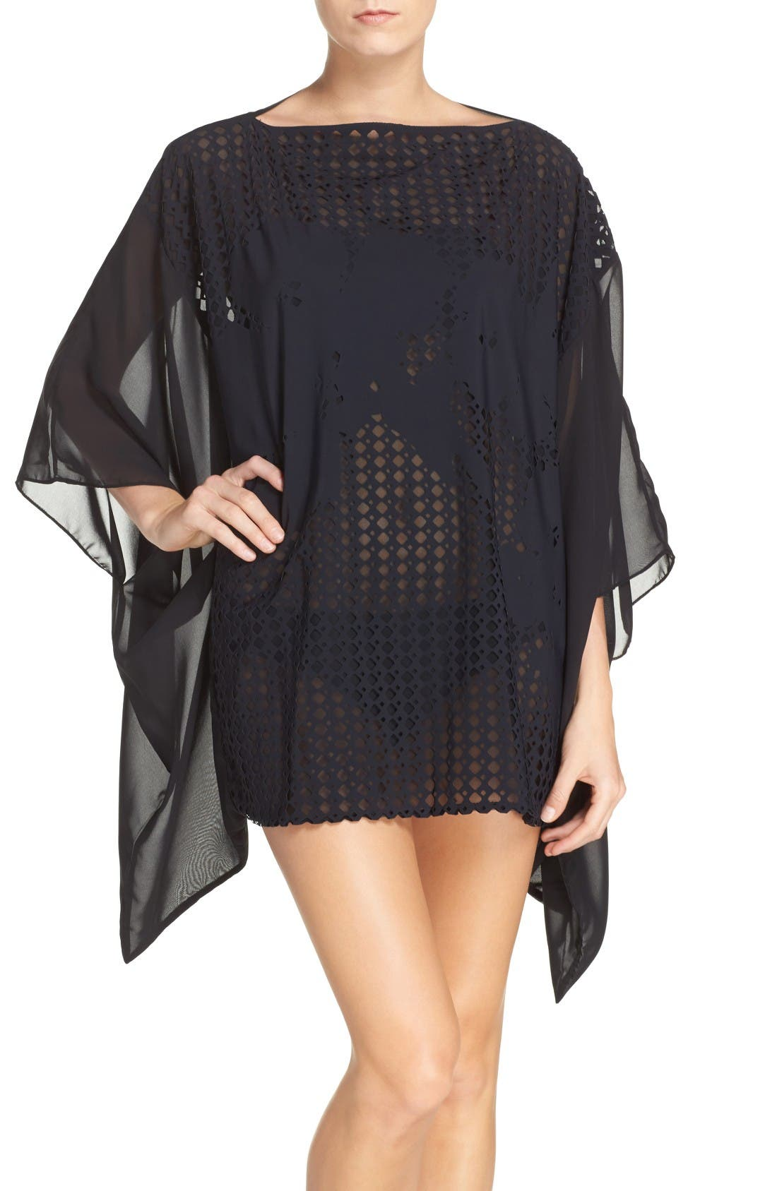 PROFILE BY GOTTEX Rambling Rose Cover-Up Kimono