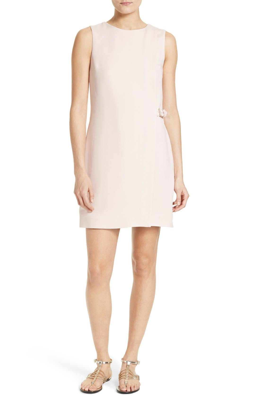 Ted Baker London Auste Belted Wrap Front Dress