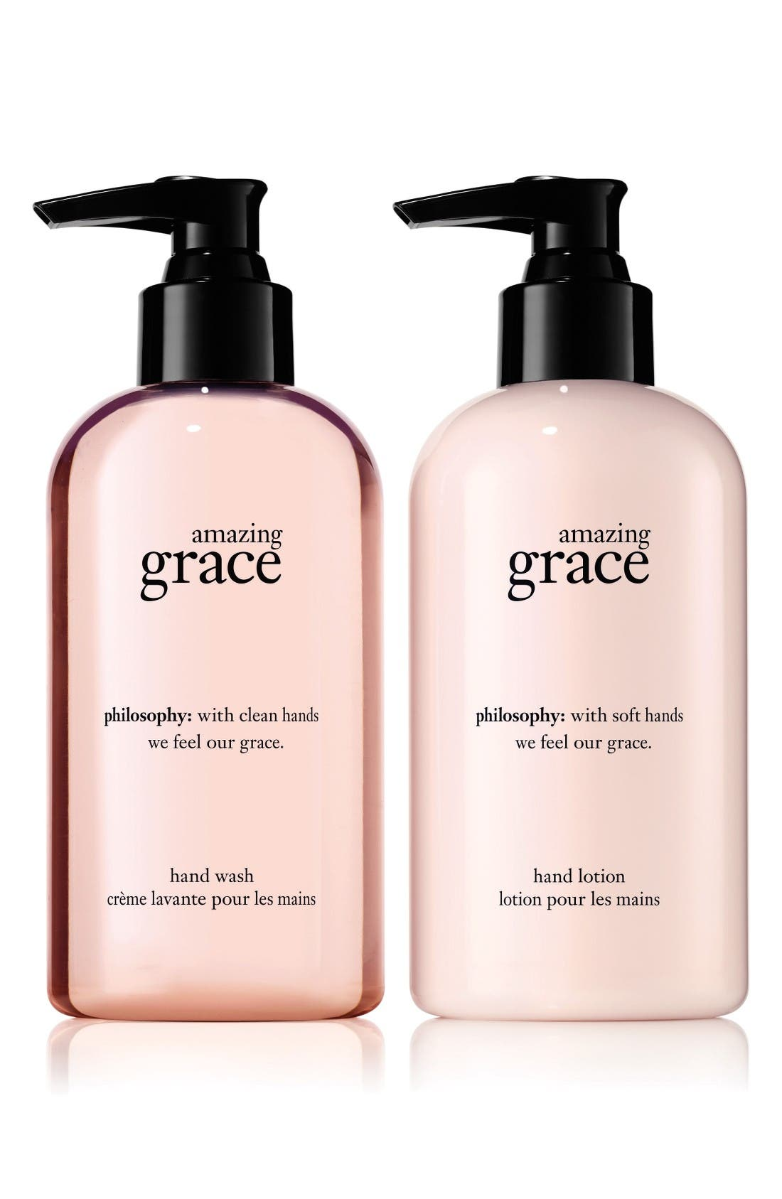 Alternate Image 1 Selected - philosophy amazing grace handcare duo (Limited Edition)