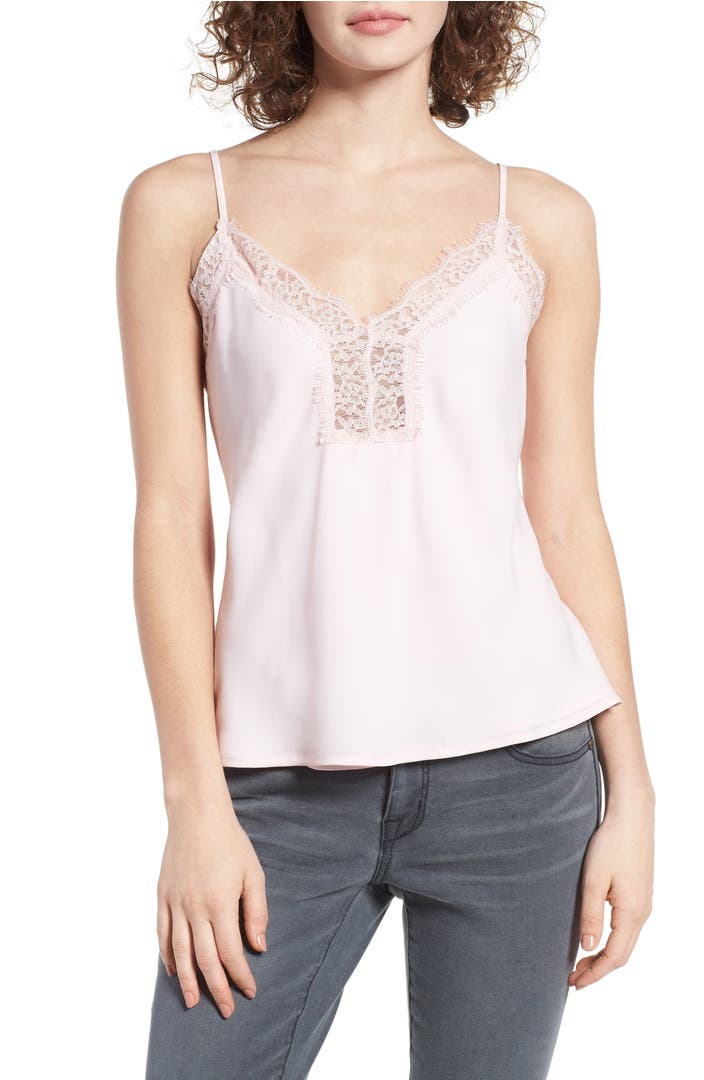 Leith Lace Trim Camisole Nordstrom