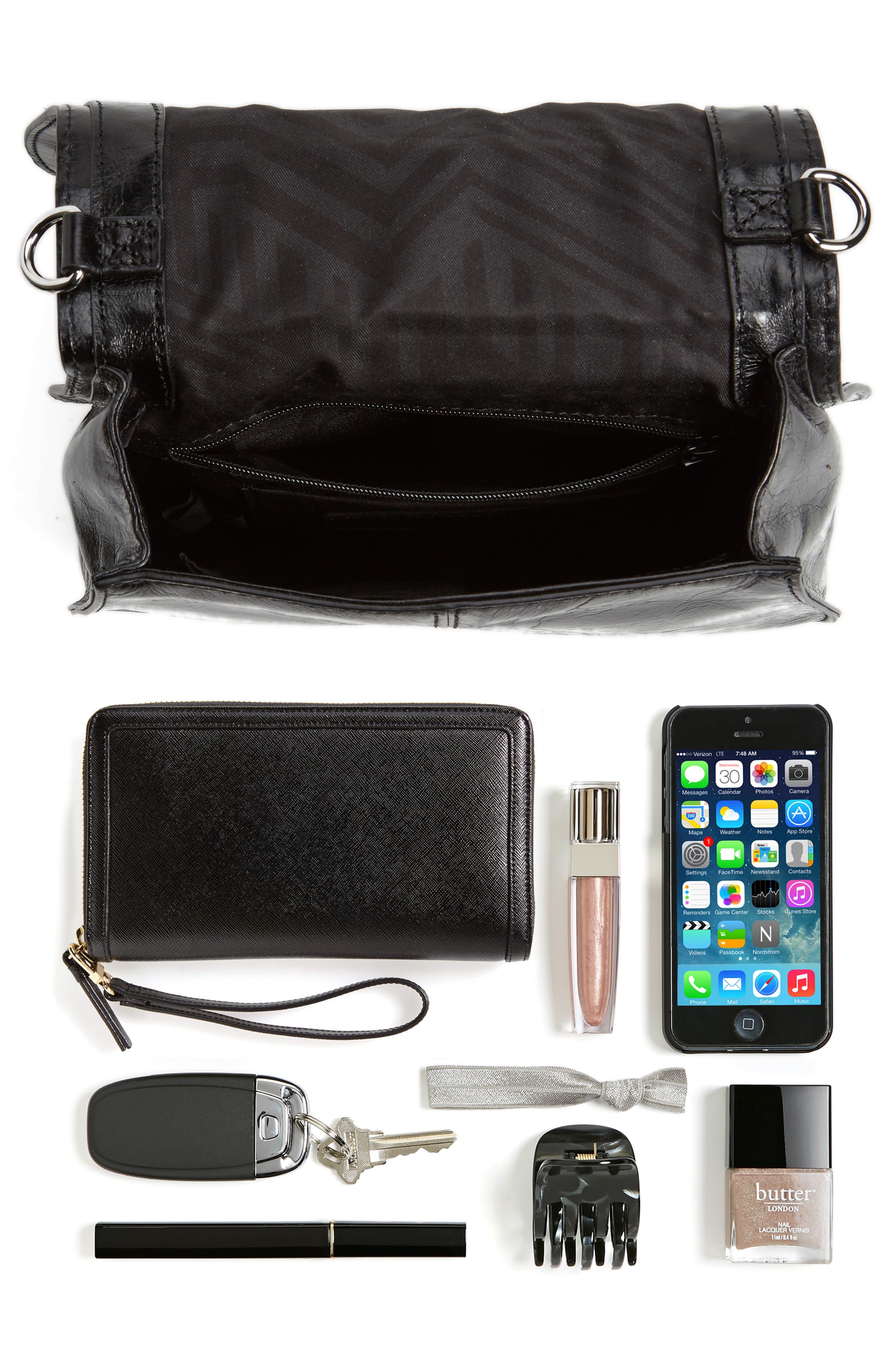 Alternate Image 7  - Rebecca Minkoff Small Vanity Leather Saddle Bag
