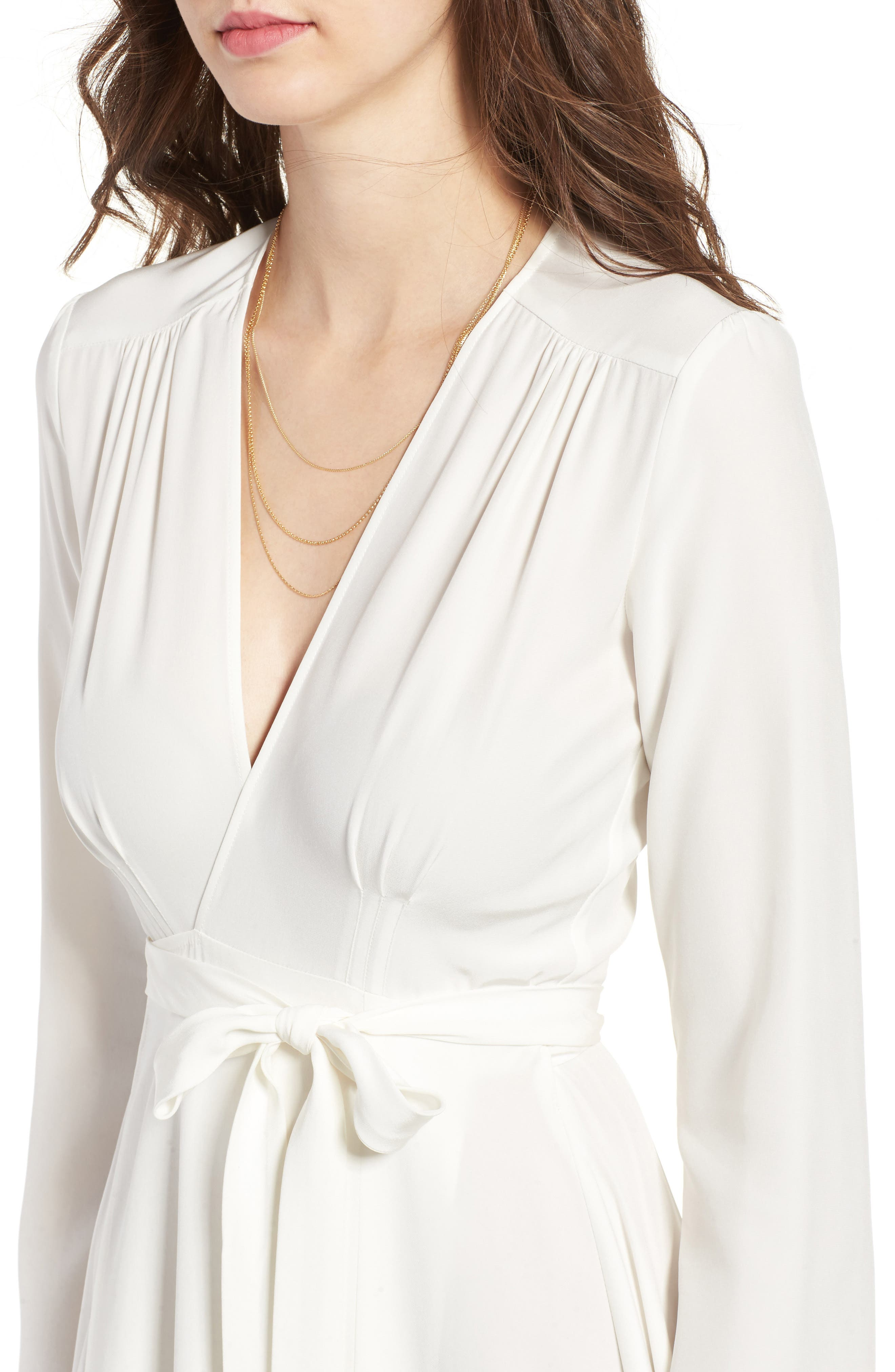 Alternate Image 4  - Stone Cold Fox Nico Silk Wrap Dress