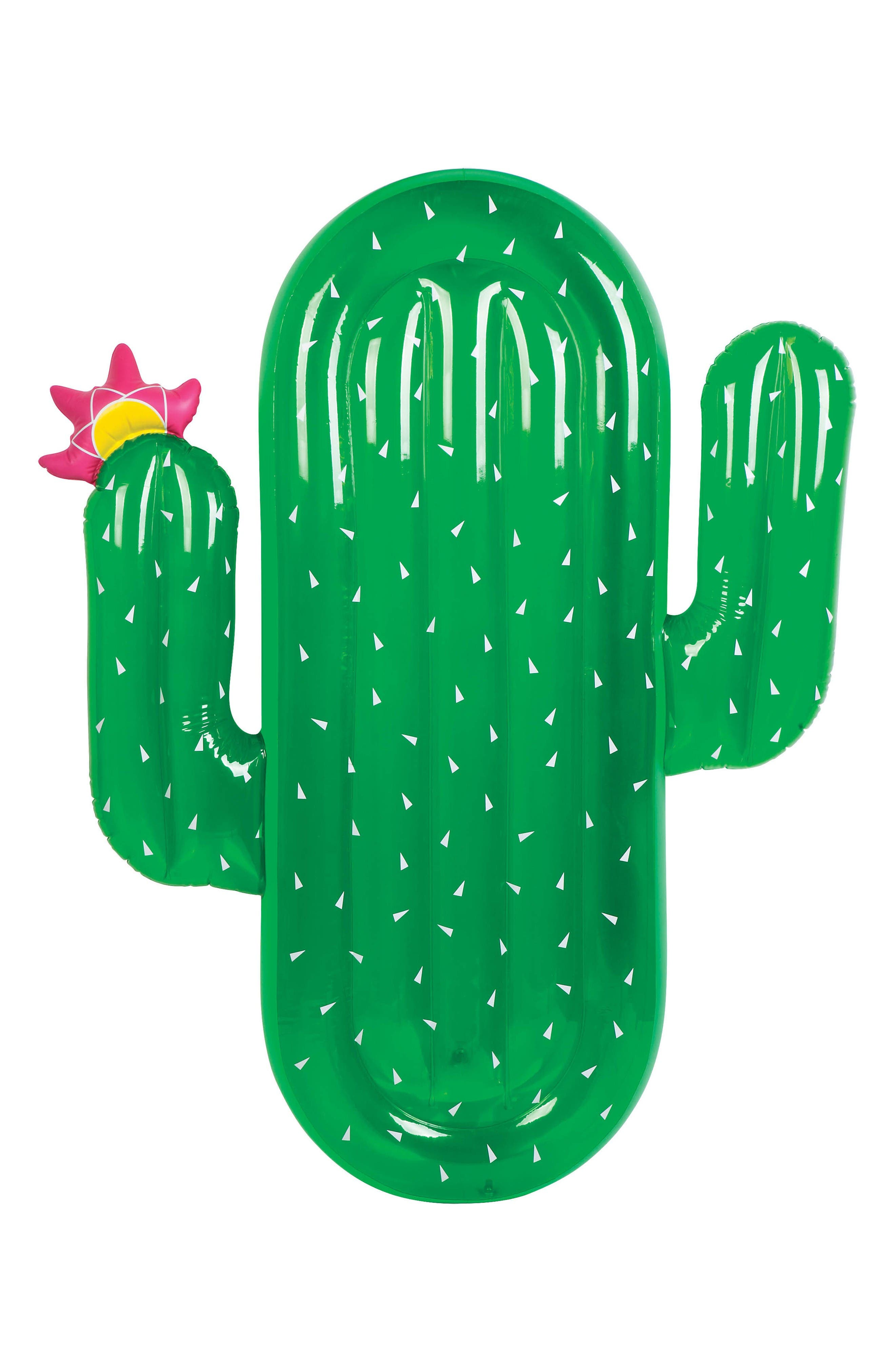 Alternate Image 1 Selected - Sunnylife Inflatable Cactus Pool Float