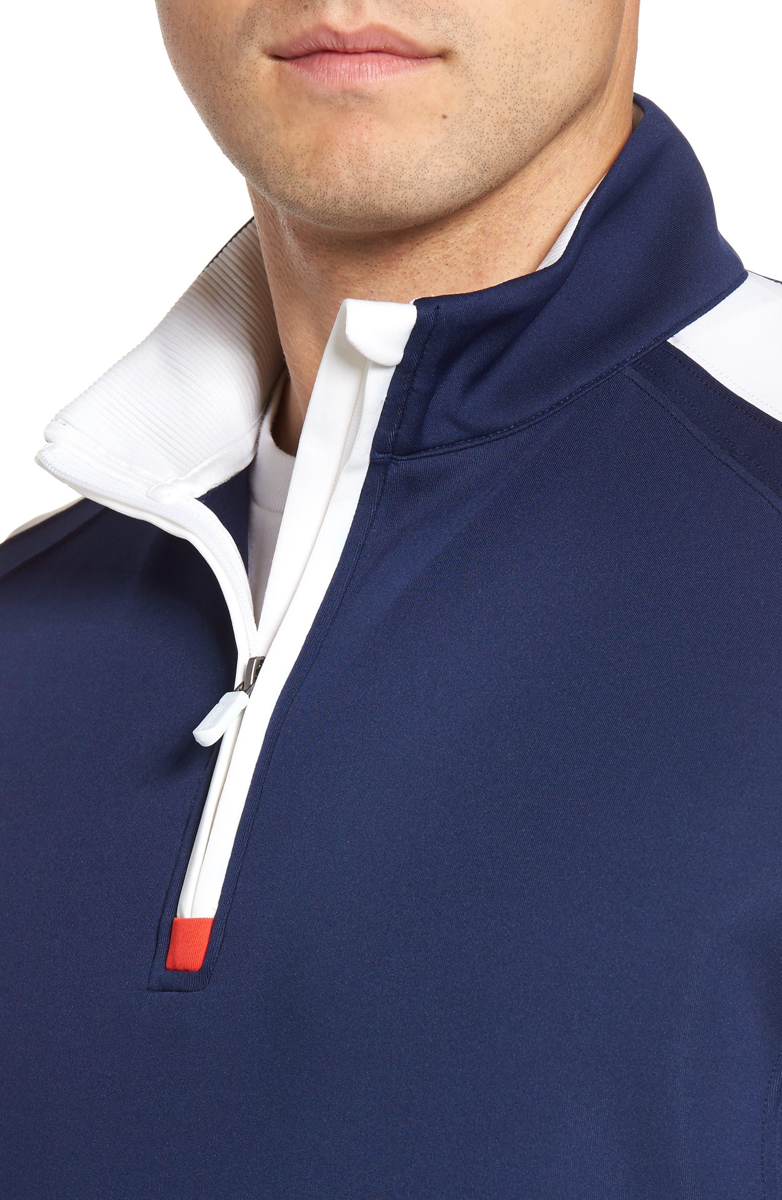 Alternate Image 4  - Bobby Jones XH20 Tech Quarter Zip Sweater