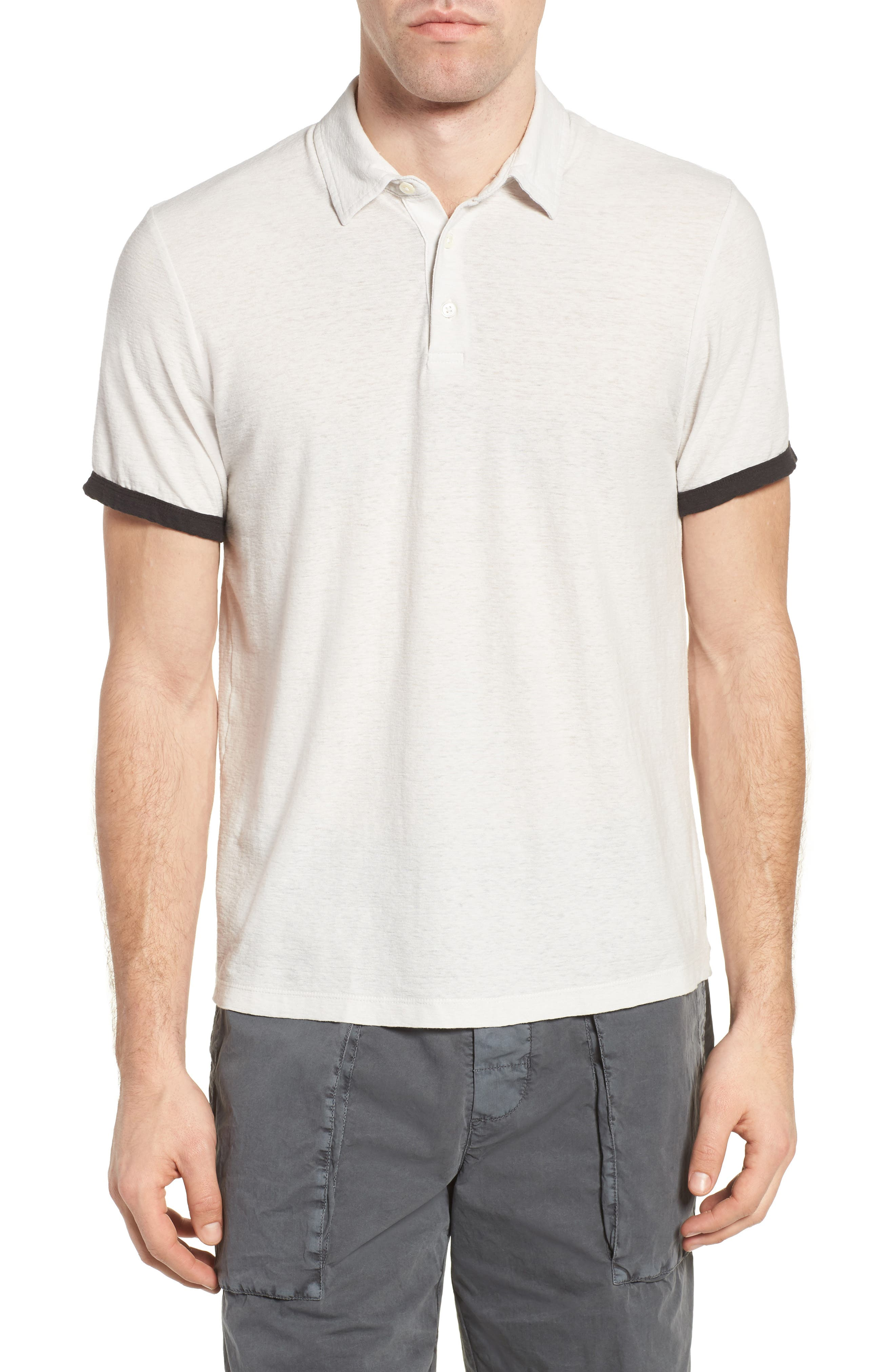 James Perse Contrast Band Polo
