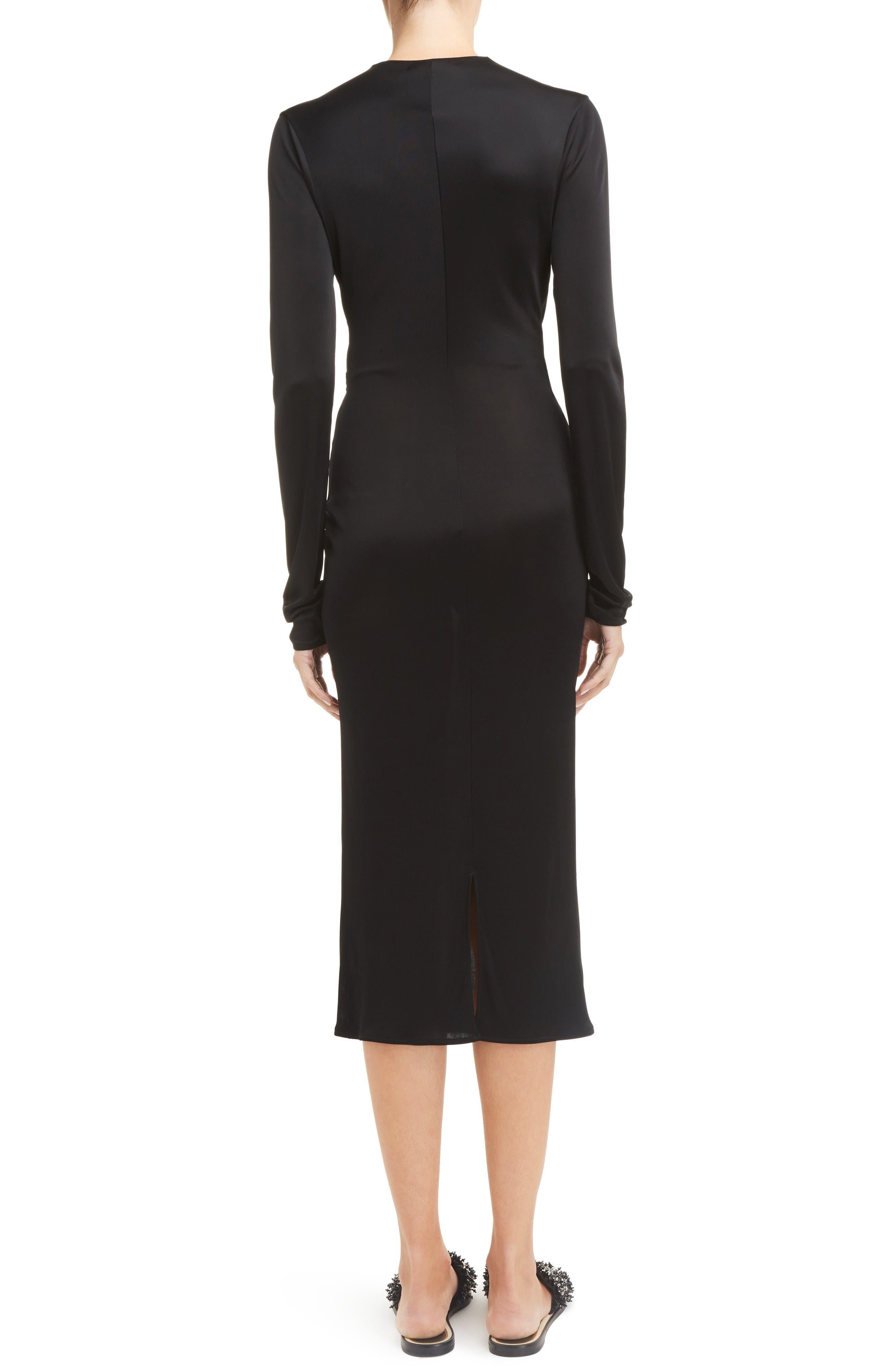 Alternate Image 2  - Lanvin Jersey Twist Front Dress