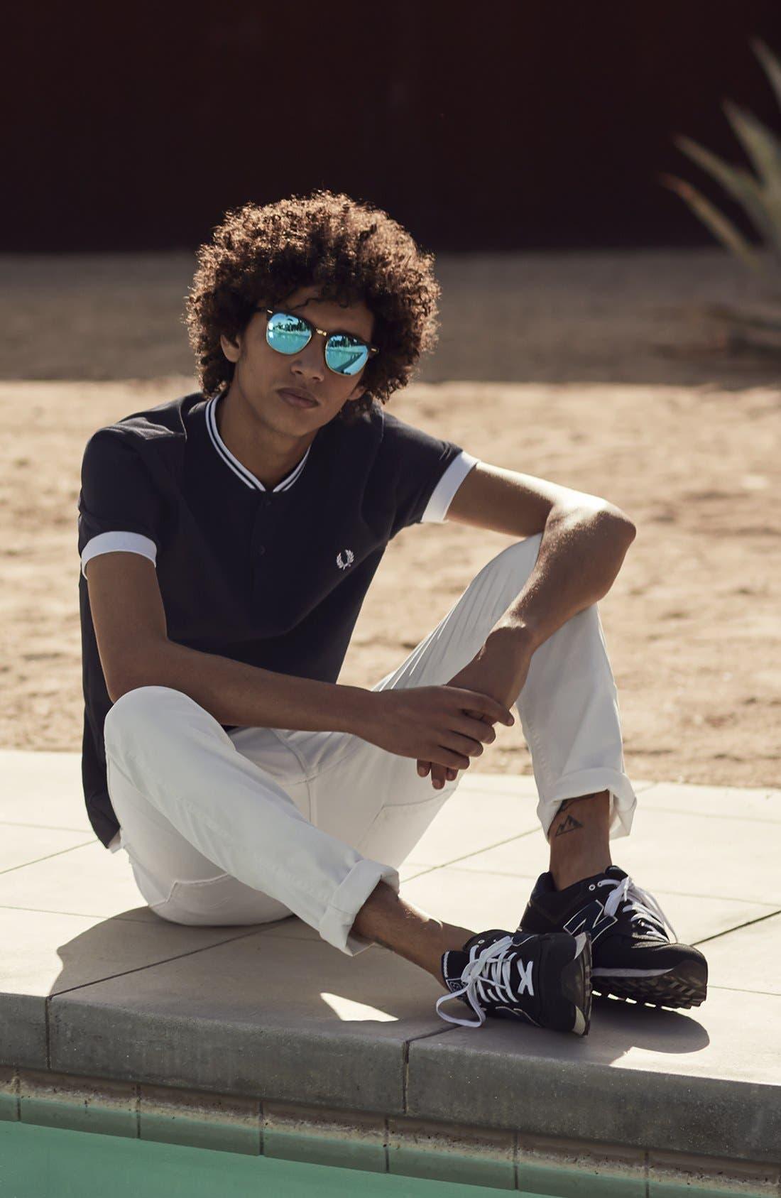Alternate Image 6  - Levi's® 510® Skinny Fit Jeans (White Bull Denim)