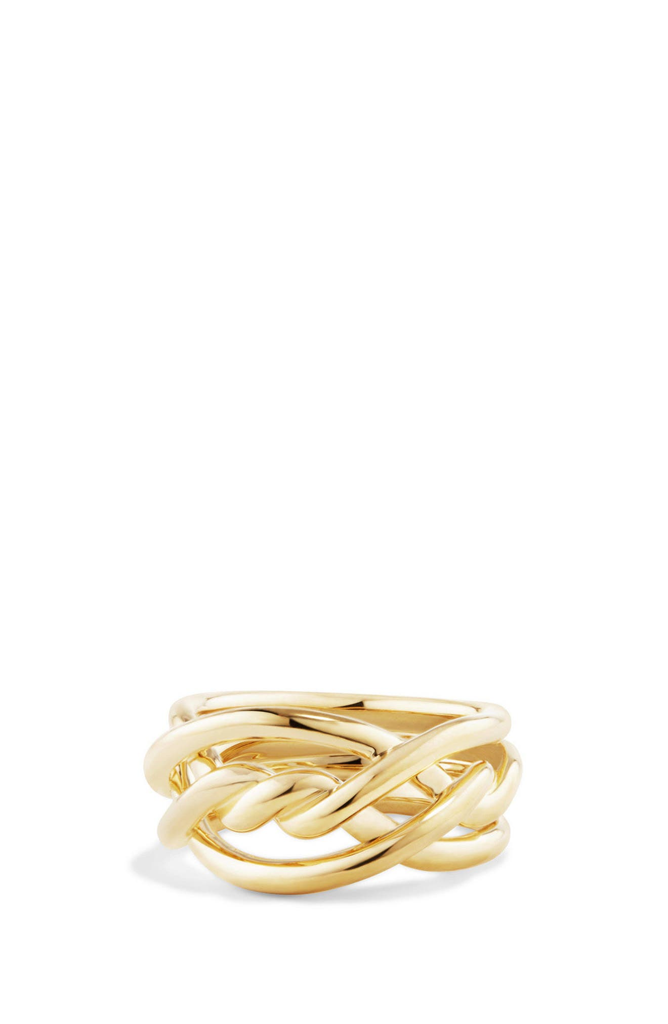 Alternate Image 1 Selected - David Yurman Continuance Ring in 18K Gold