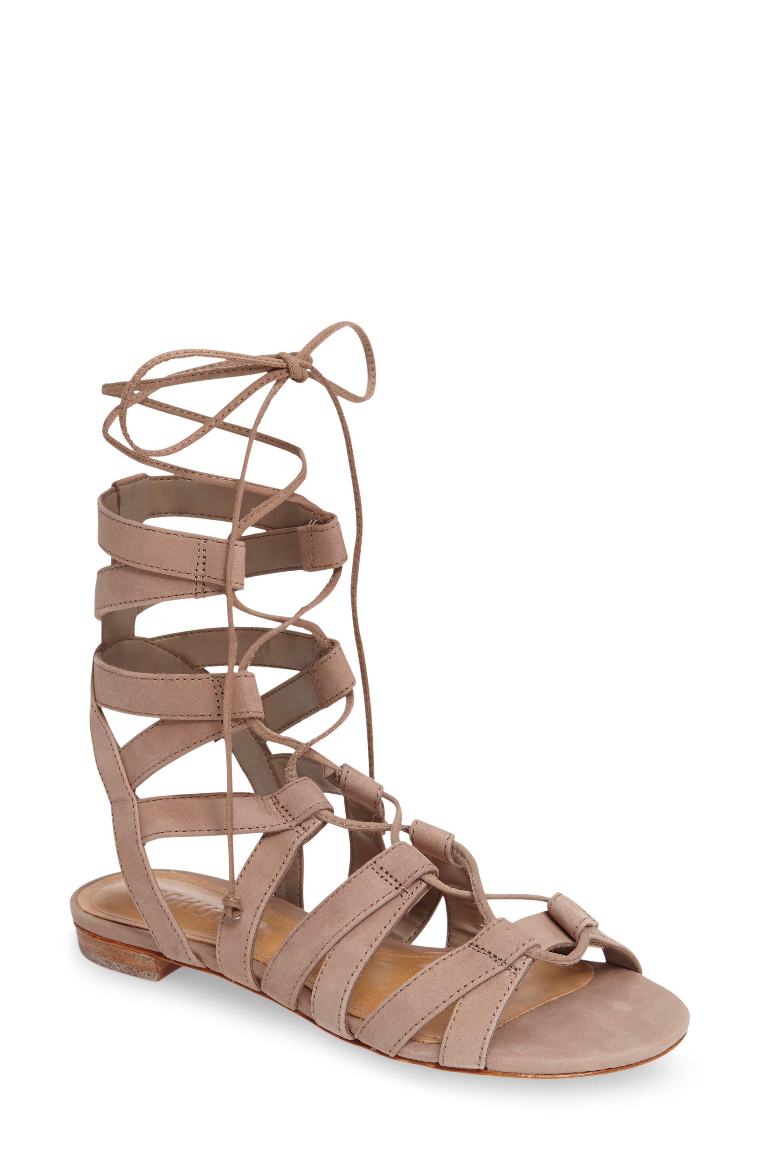 Alternate Image 1 Selected - Schutz Berlina Ghillie Gladiator Sandal (Women)