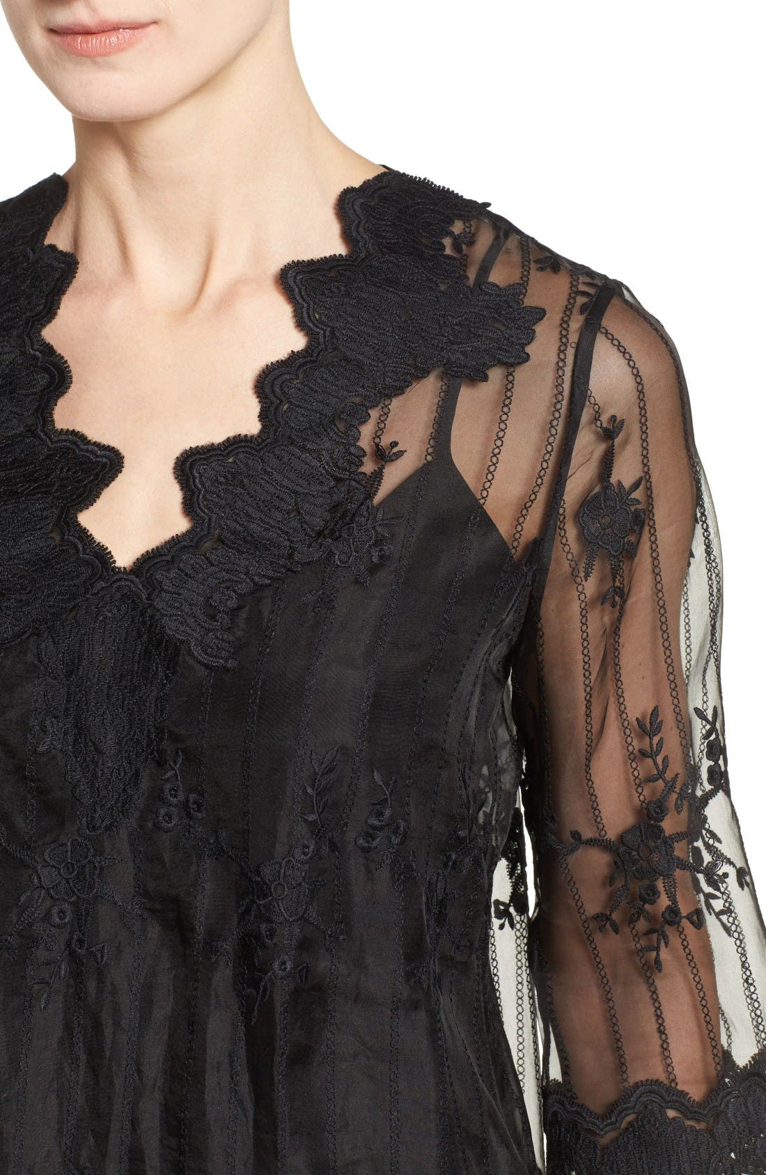 Alternate Image 4  - Kobi Halperin Westerlee Embroidered Lace Blouse