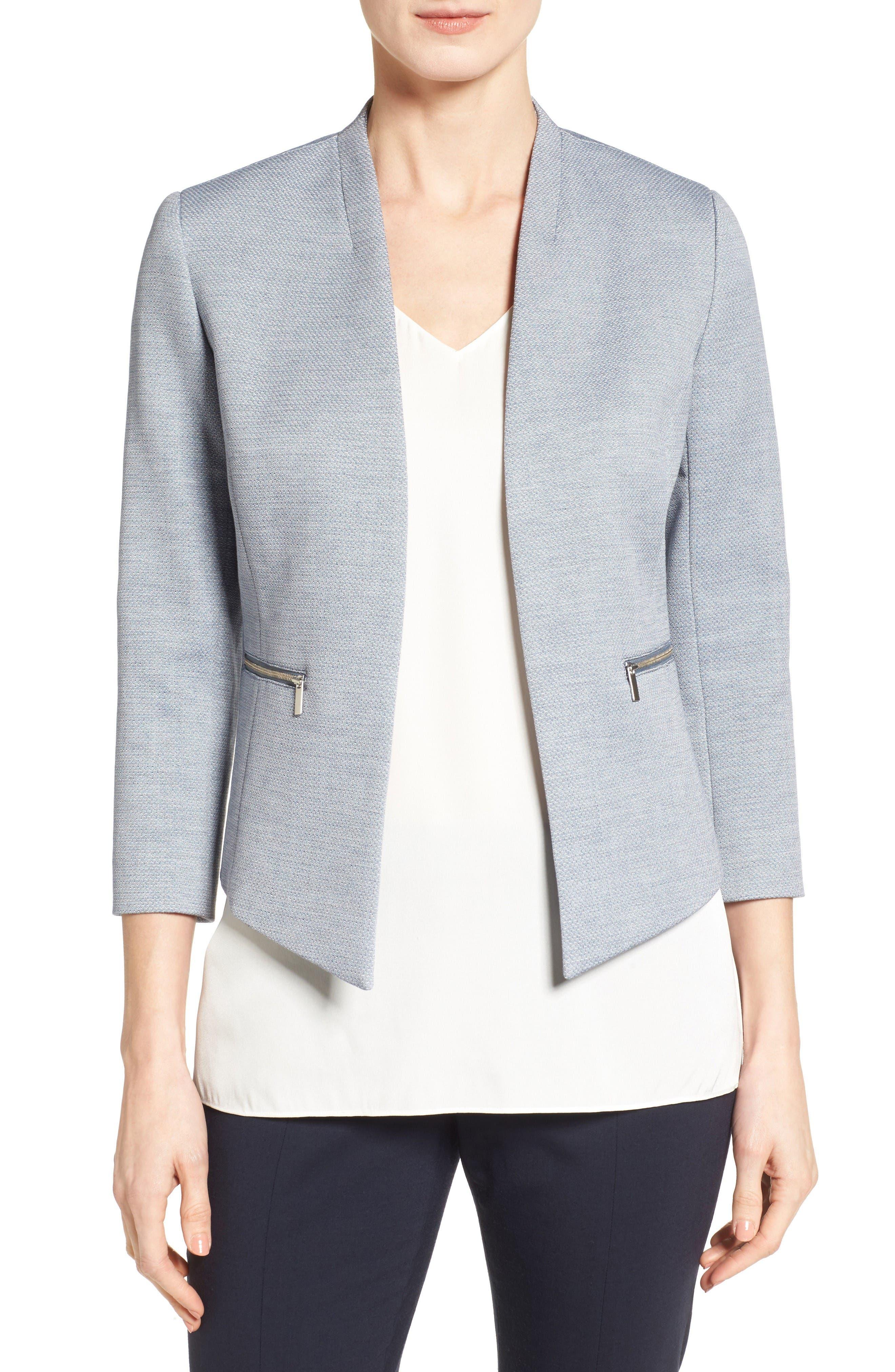 Classiques Entier® Open Front Crop Jacket