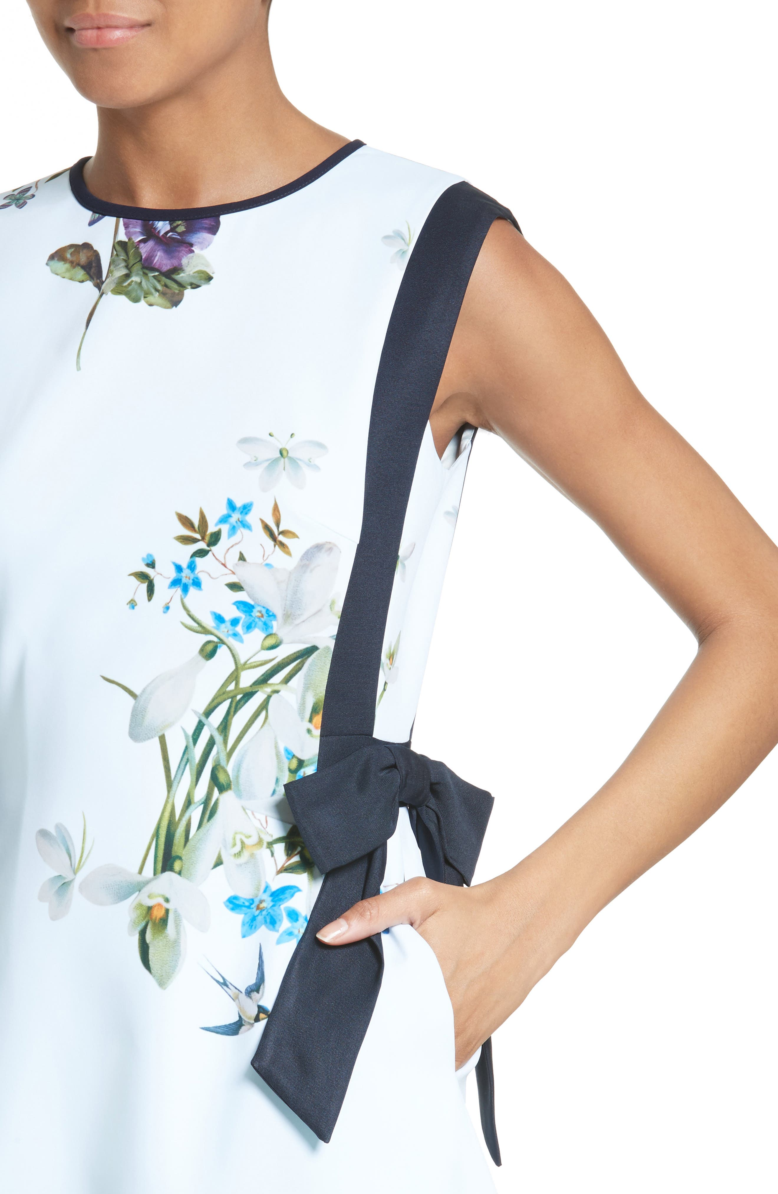 Alternate Image 5  - Ted Baker London Sipnela A-Line Dress