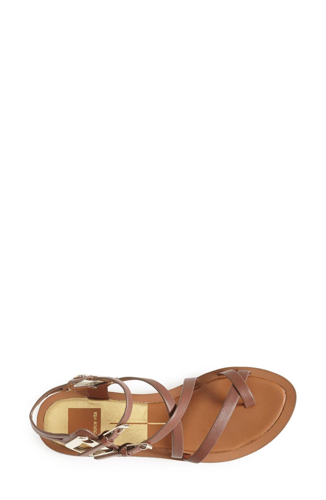 Alternate Image 3  - Dolce Vita 'Ferrah' Flat Leather Sandal (Women)