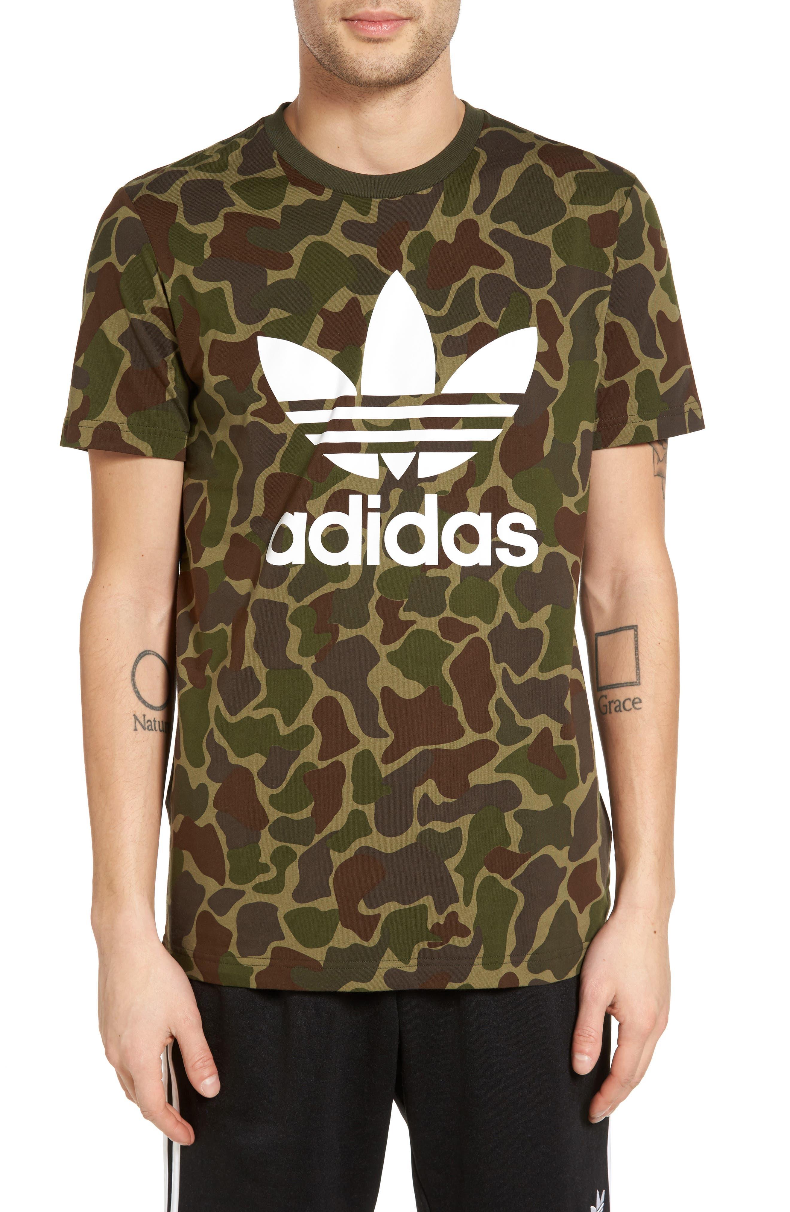 adidas Originals Camo Print T-Shirt