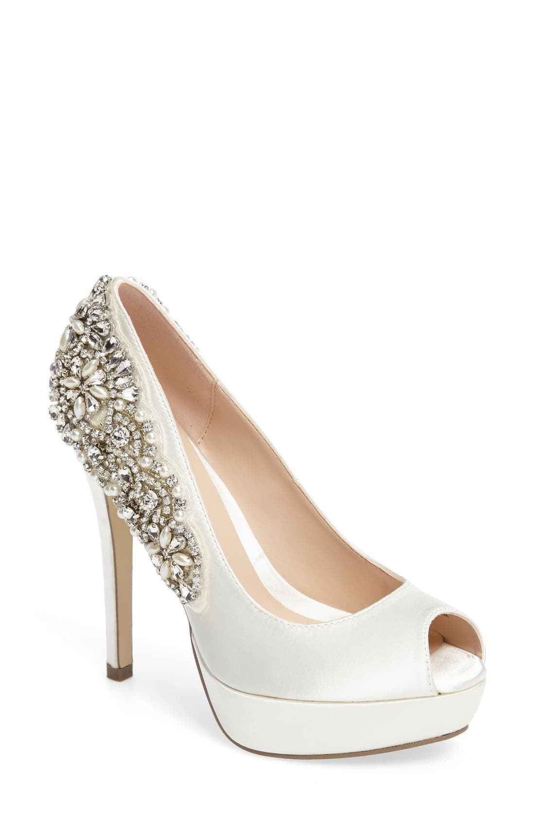 pink paradox london Indulgence Peep Toe Pump (Women)