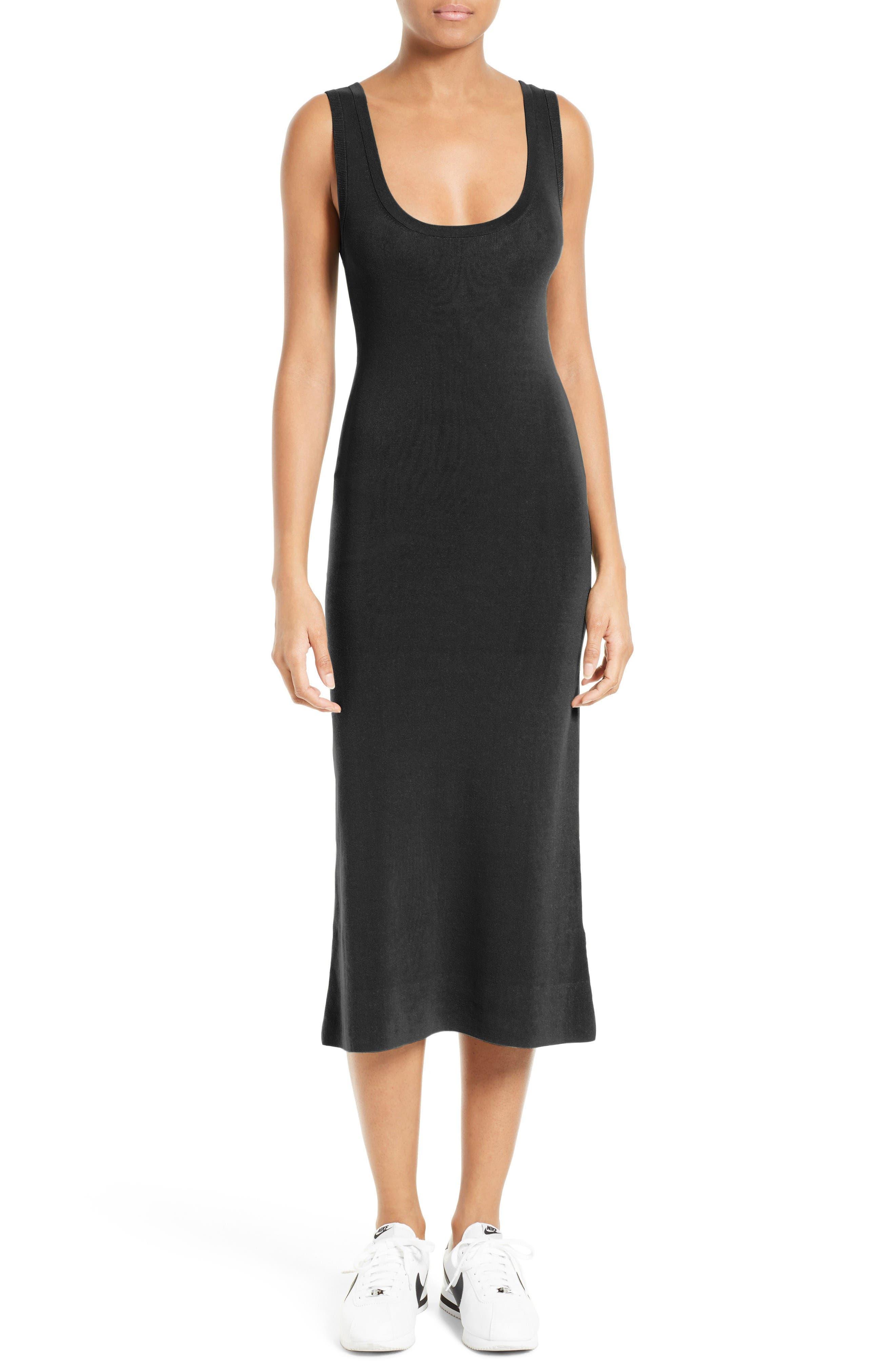 Alternate Image 1 Selected - A.L.C. Kaius Knit Midi Dress