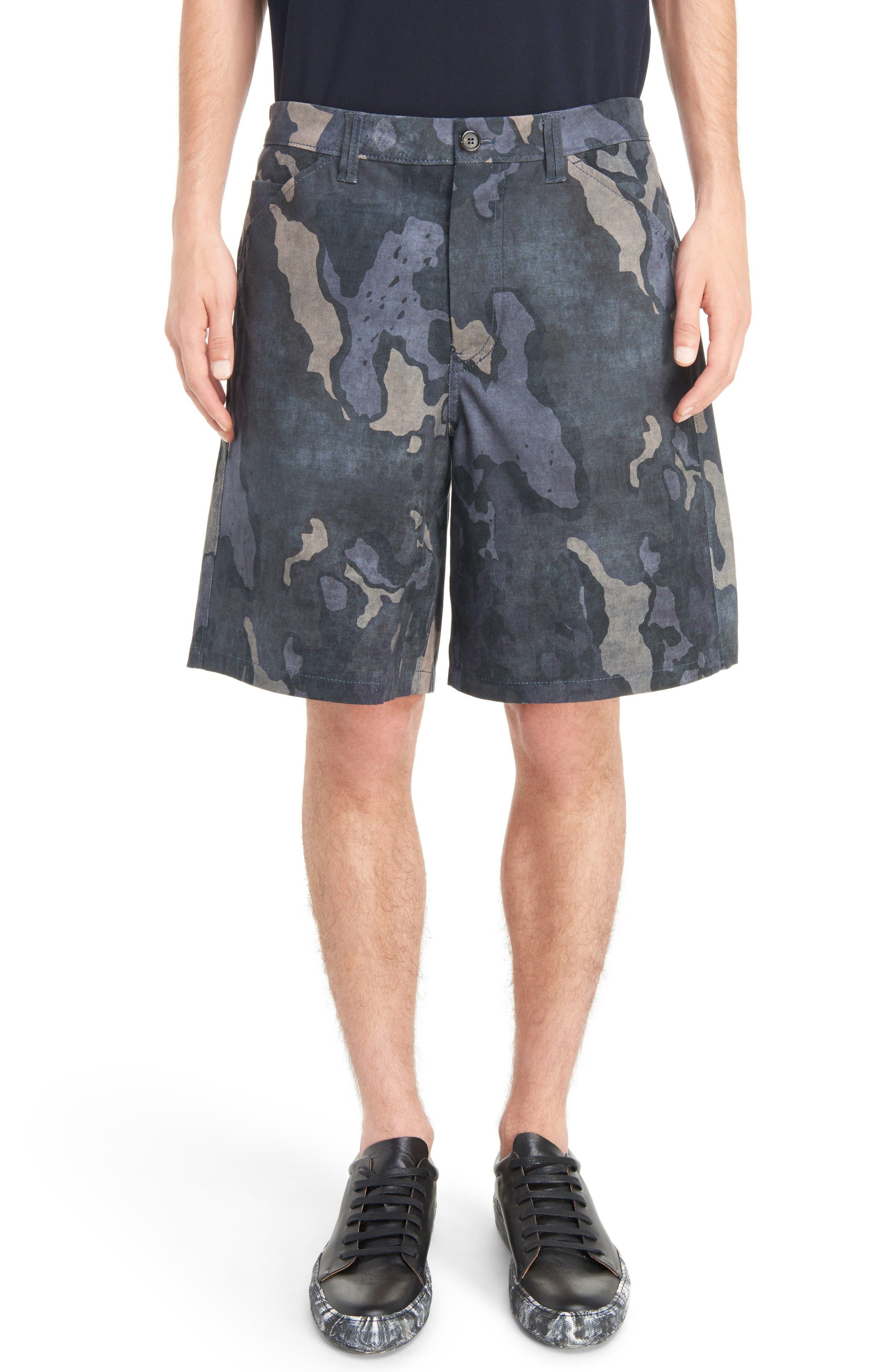 ACNE STUDIOS Allan Camo Print Shorts
