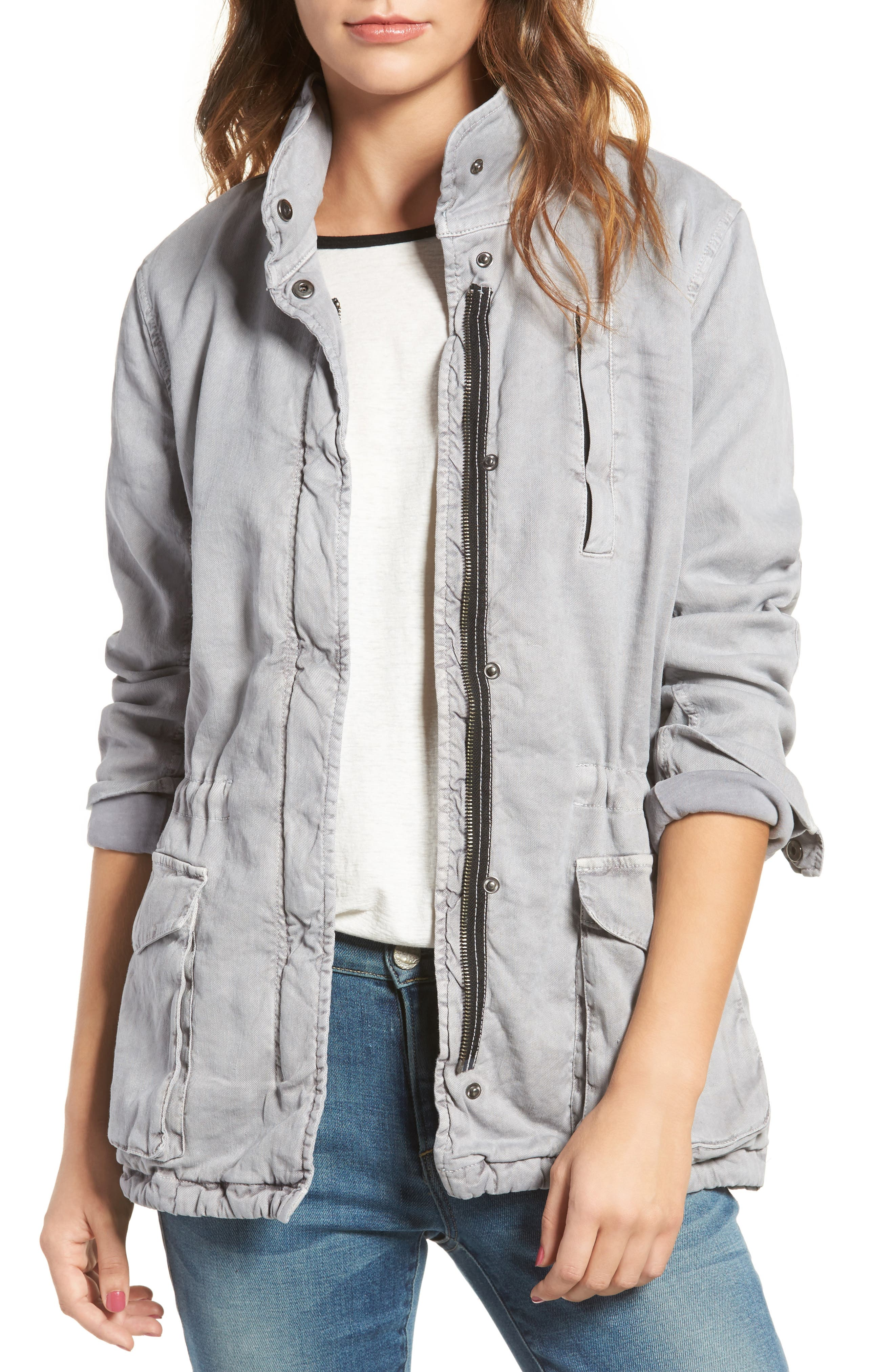 Main Image - James Perse Stretch Twill Utility Jacket