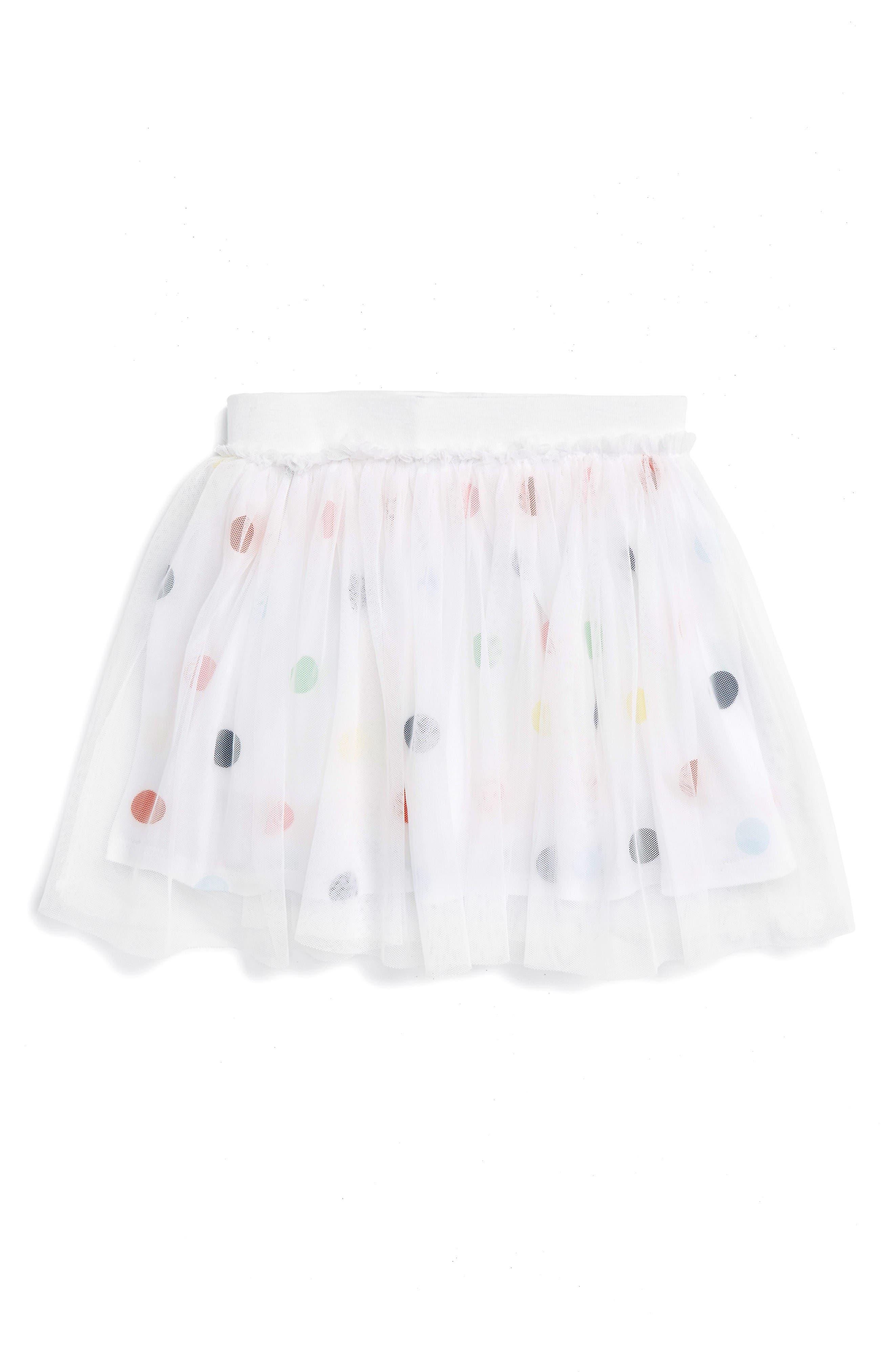 SPLENDID Polka Dot Tutu Skirt