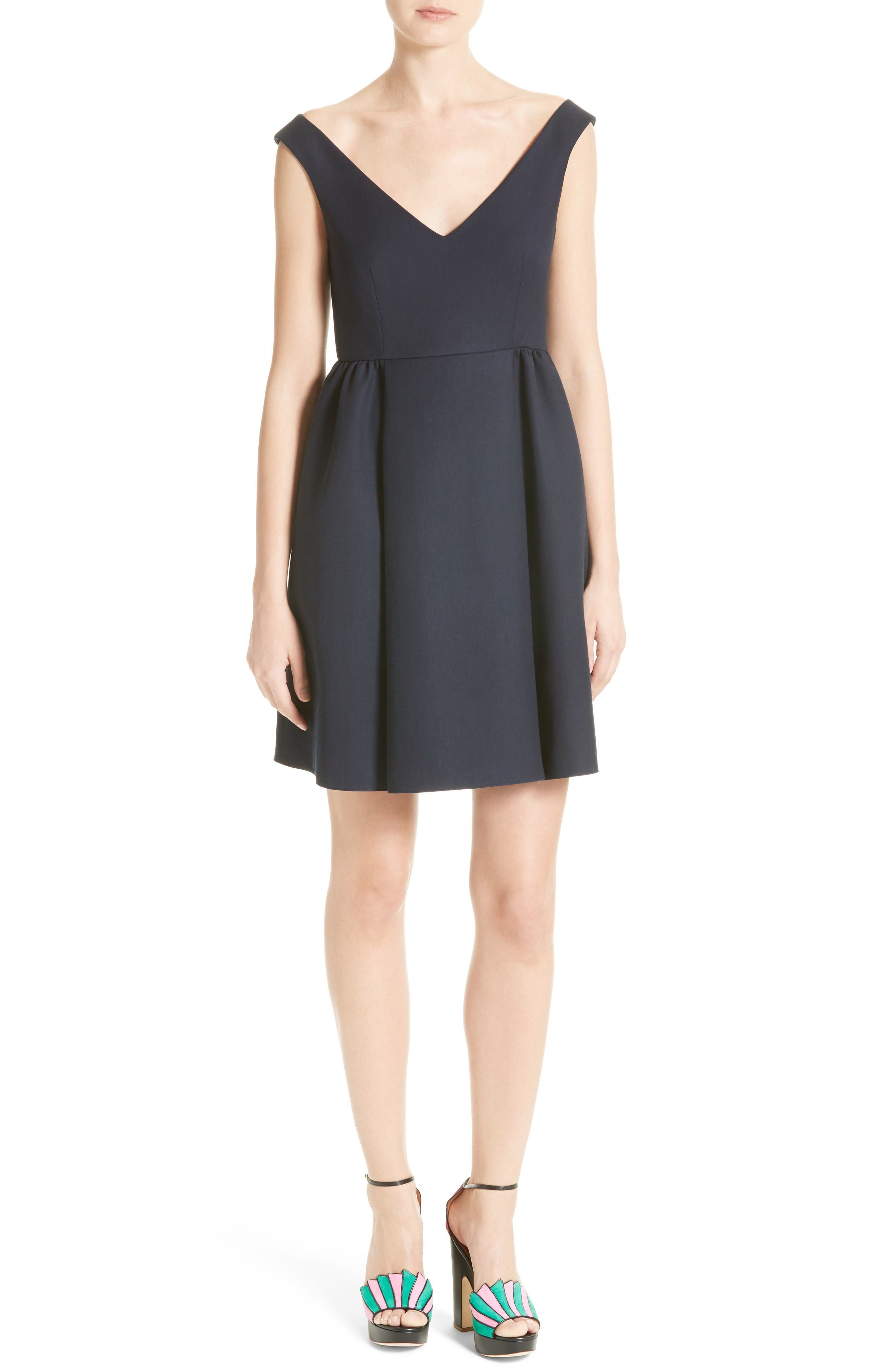 RED VALENTINO Crepe Cady Dress