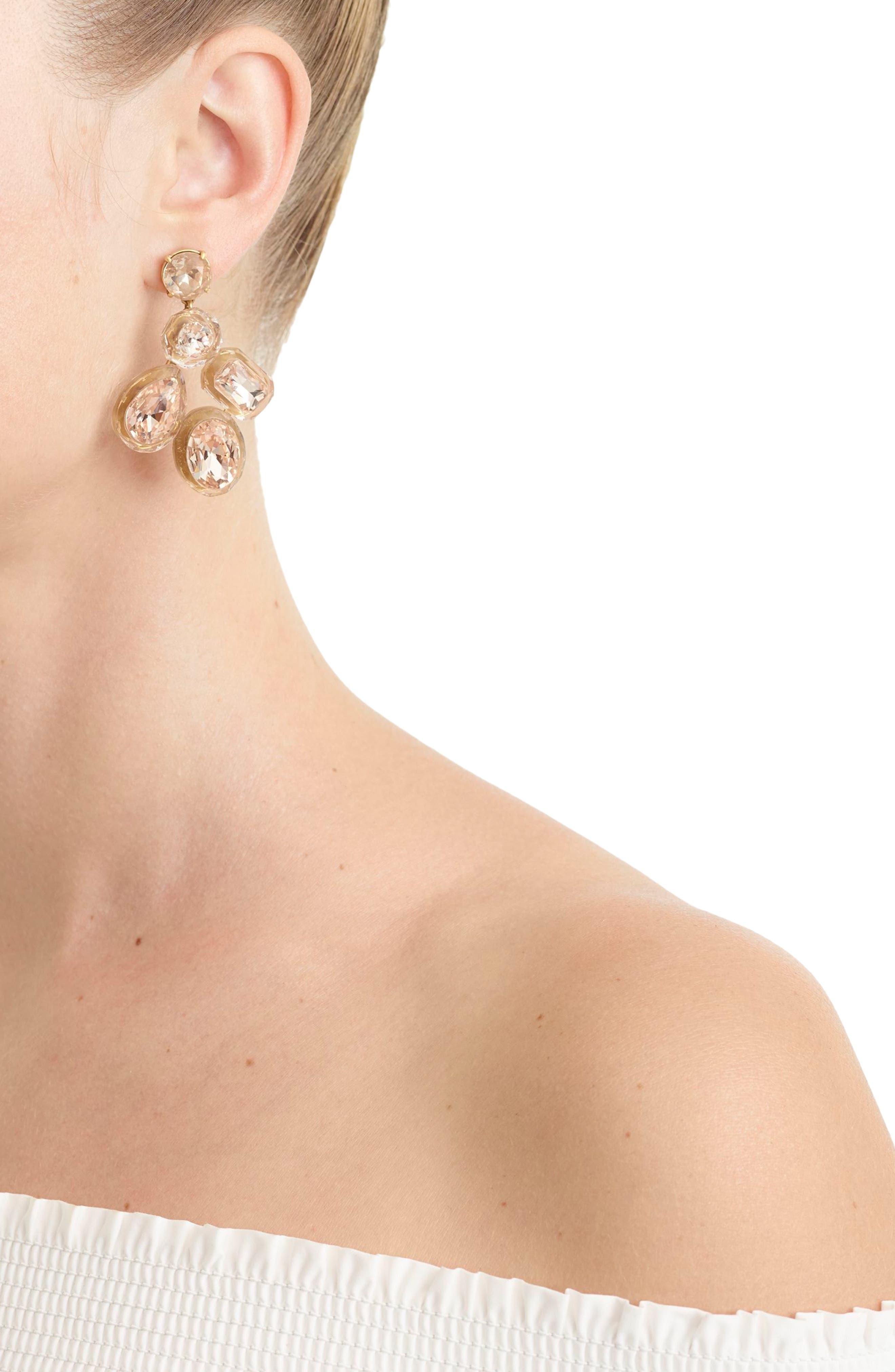 Alternate Image 2  - J.Crew Jewel Box Cluster Earrings