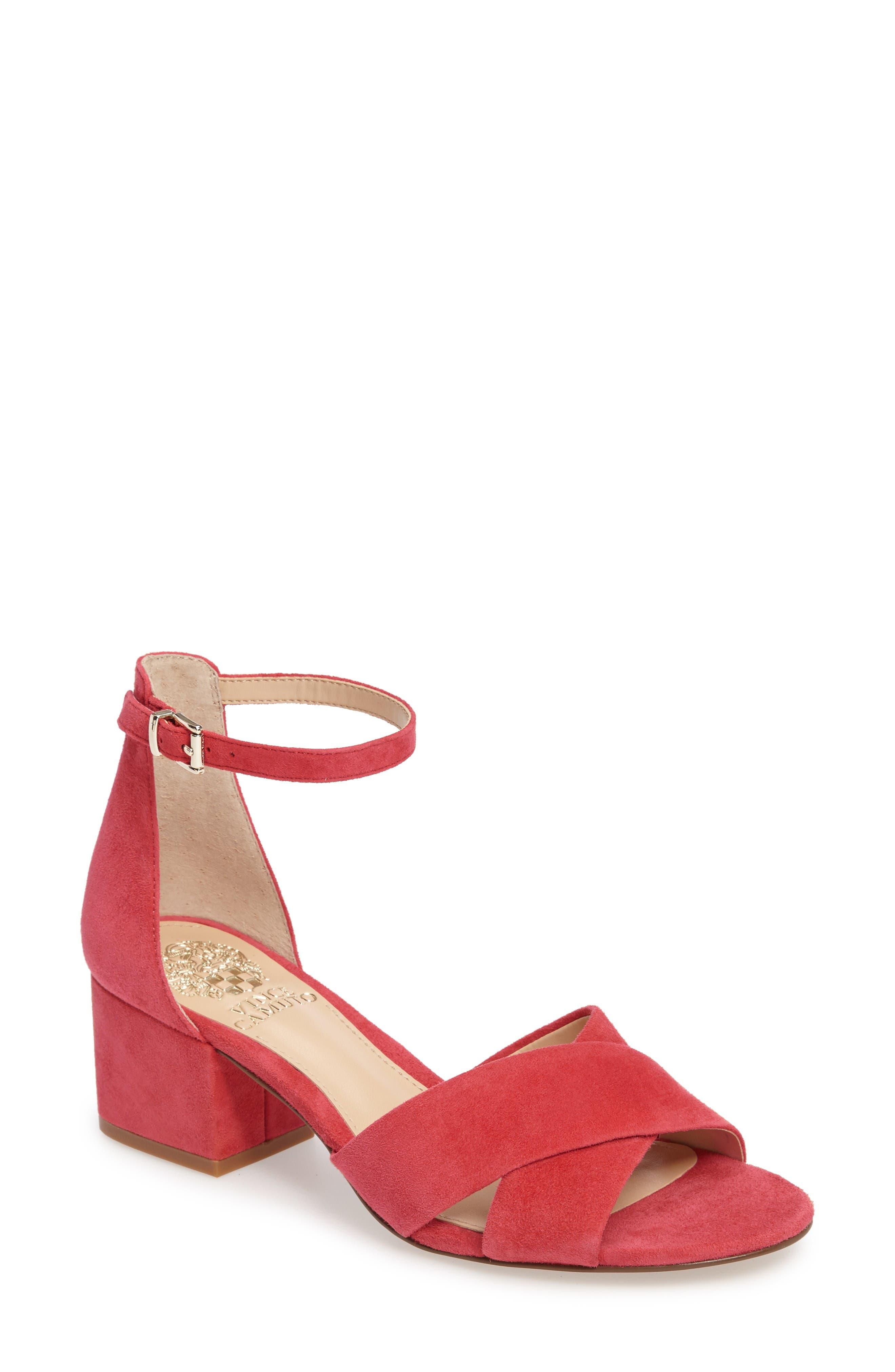 Vince Camuto Florrie Ankle Strap Sandal (Women)
