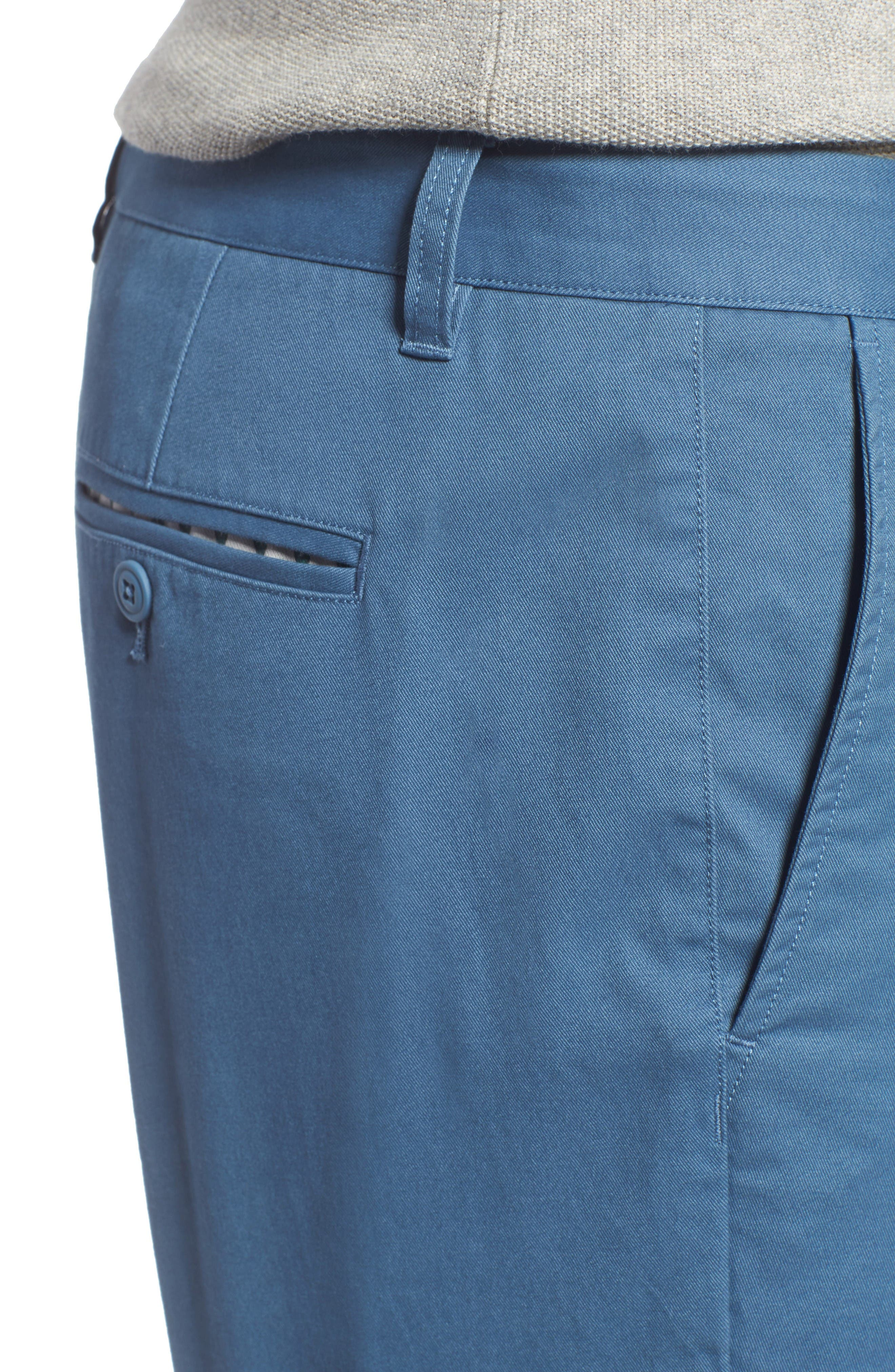 Alternate Image 4  - Bonobos Straight Washed Stretch Chinos