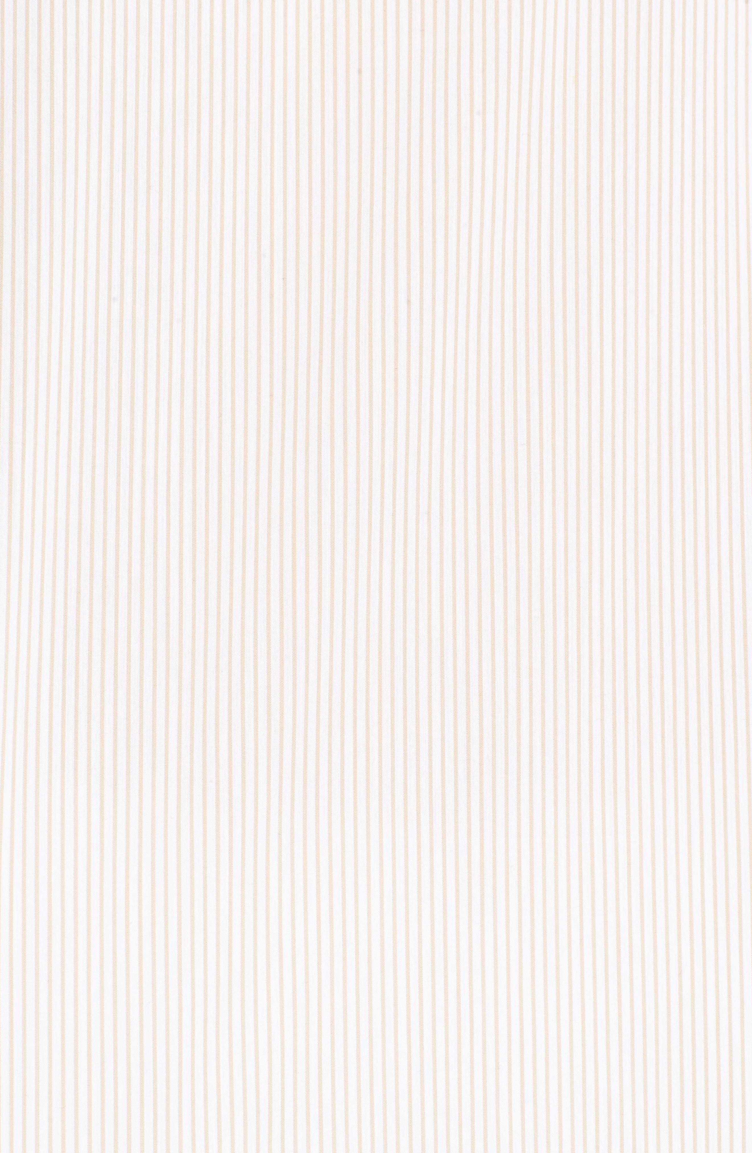 Alternate Image 5  - Chelsea28 Stripe Off the Shoulder Poplin Blouse