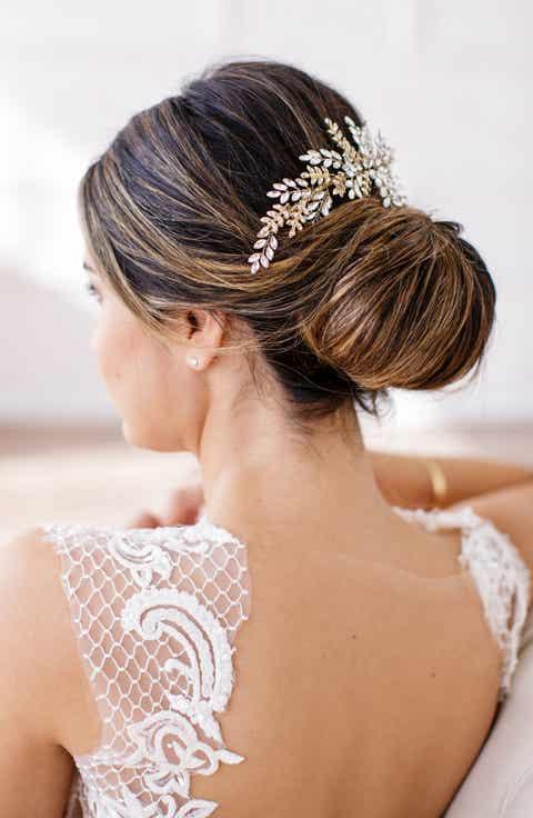 Brides   Hairpins Serena Crystal Hair Comb