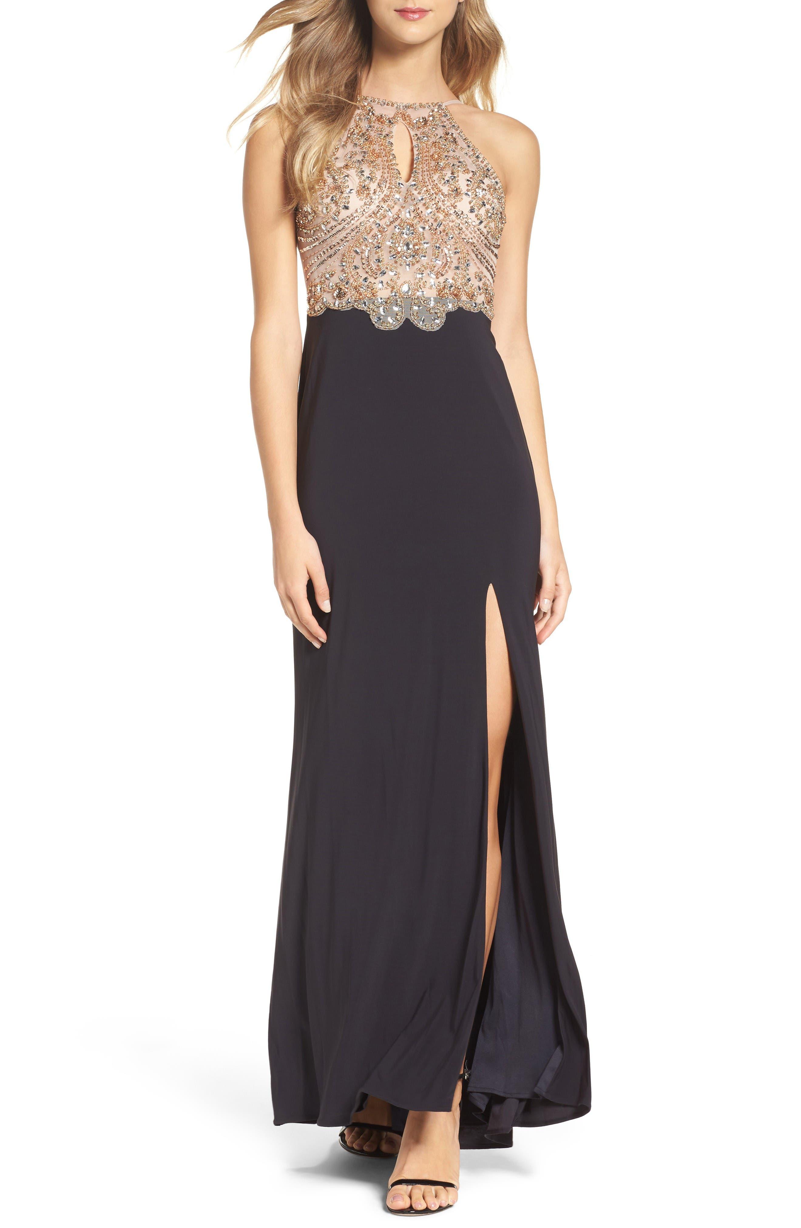 Blondie Nites Embellished Gown