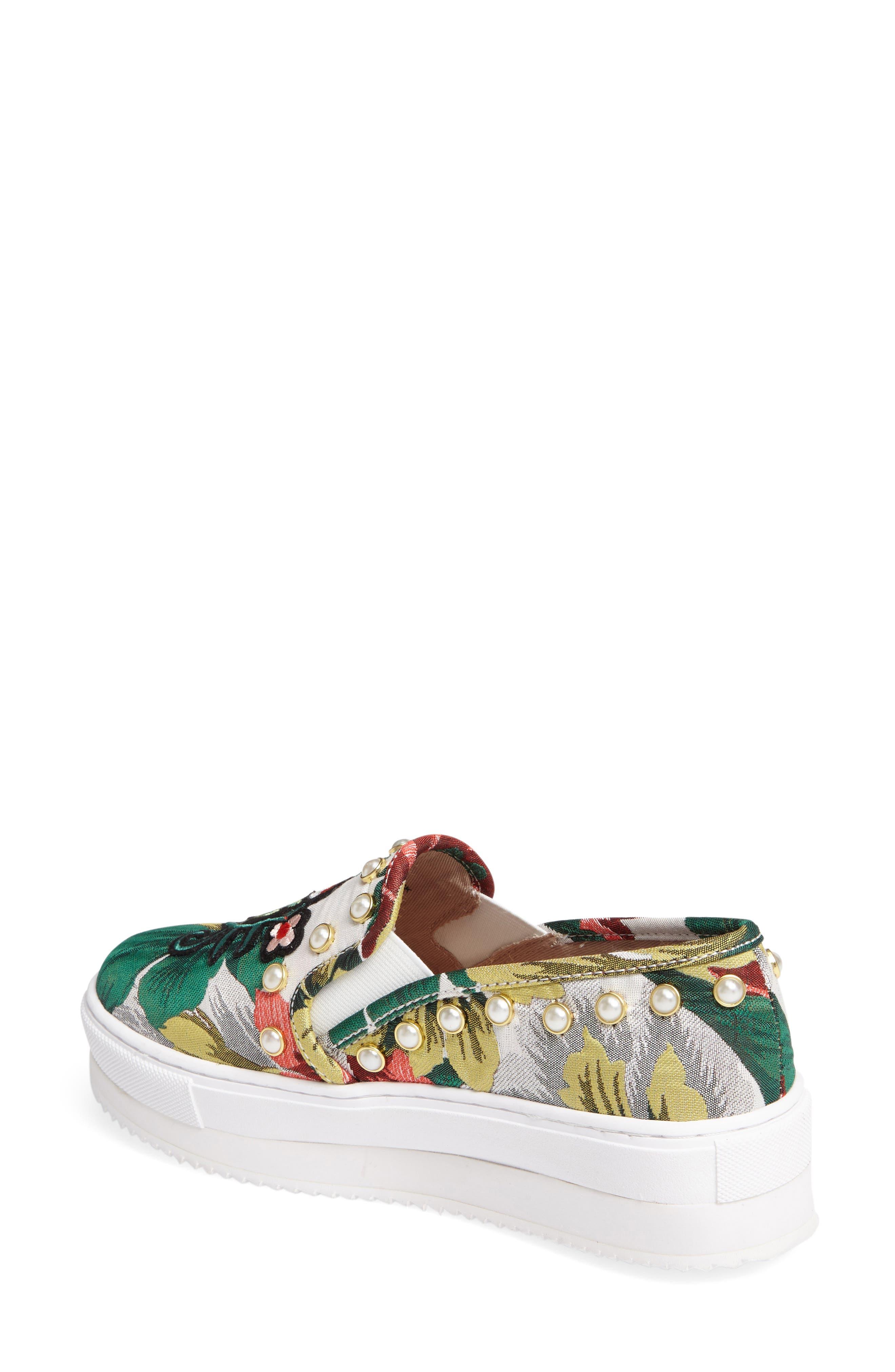 Alternate Image 2  - Steve Madden Slick-P Platform Slip-On Sneaker (Women)