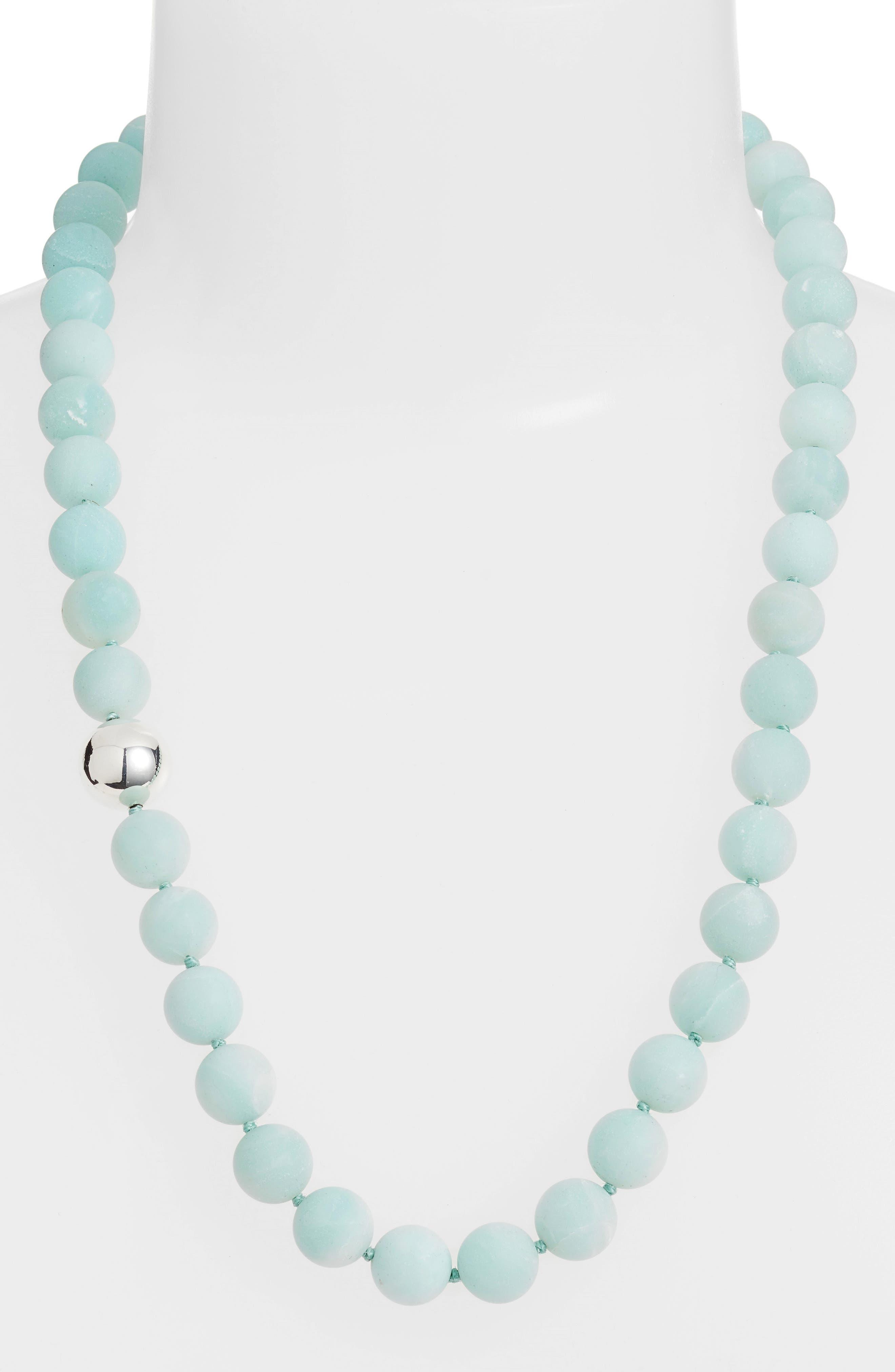 Simon Sebbag Stone Beaded Necklace