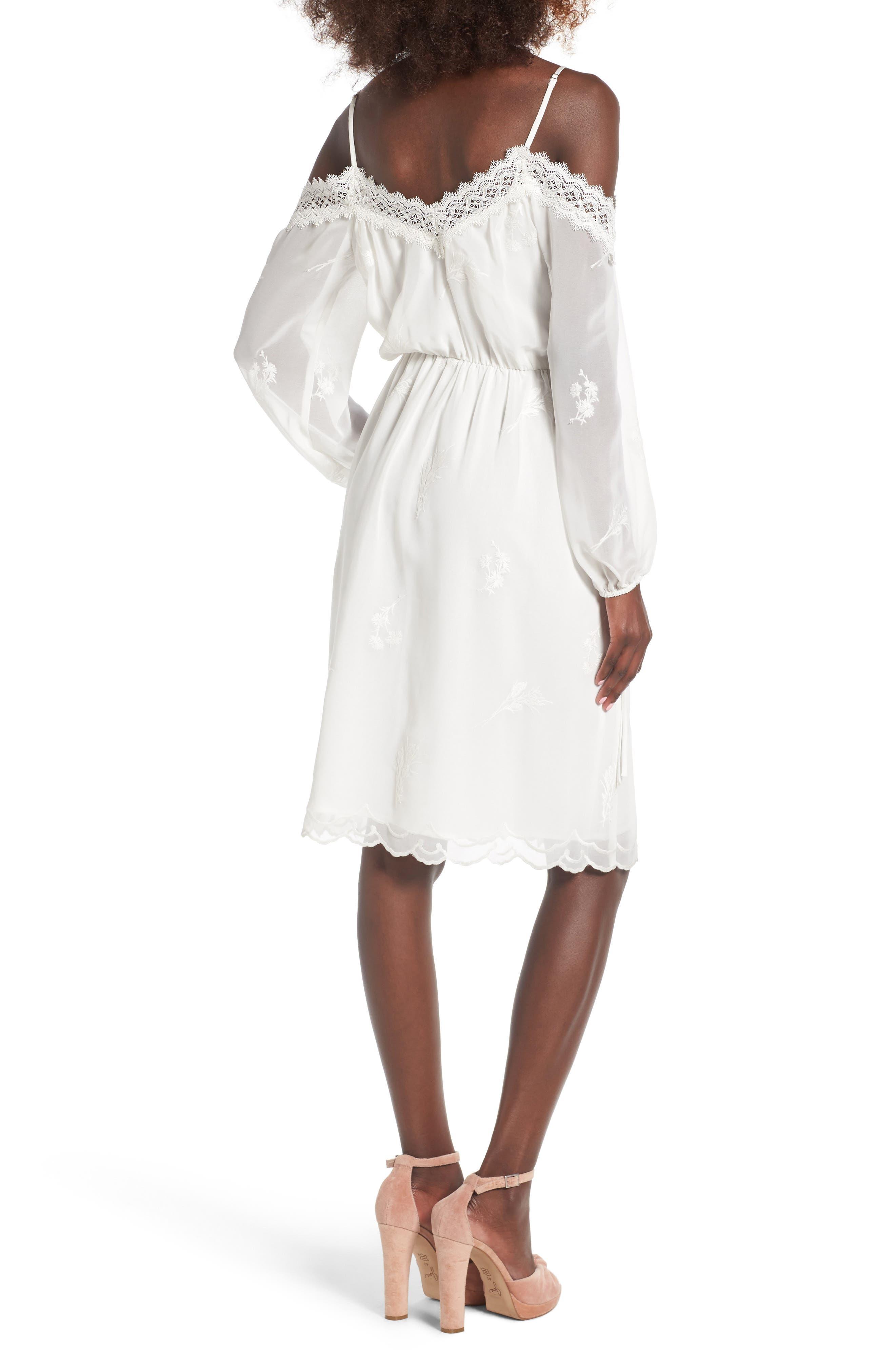 Alternate Image 2  - WAYF Amelia Cold Shoulder Dress