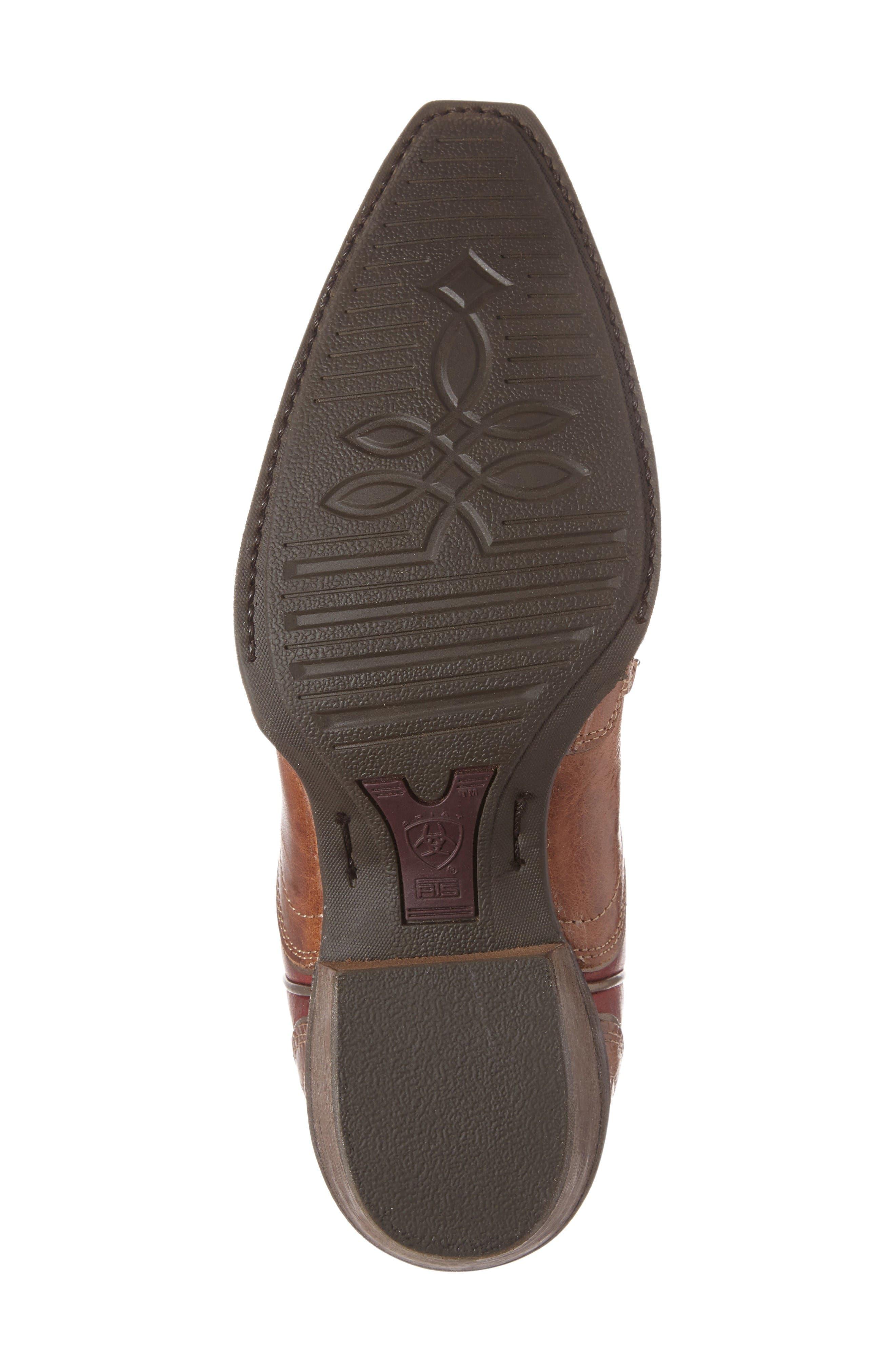 Alternate Image 4  - Ariat Zealous Wingtip Western Boot (Women)
