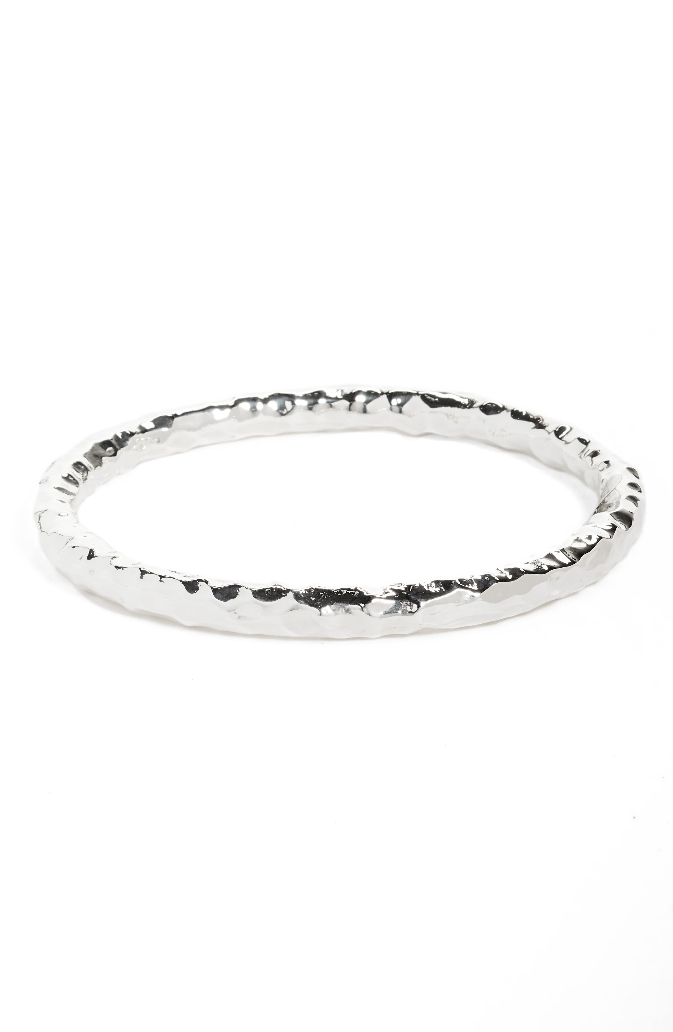 Simon Sebbag Thin Hammered Bangle