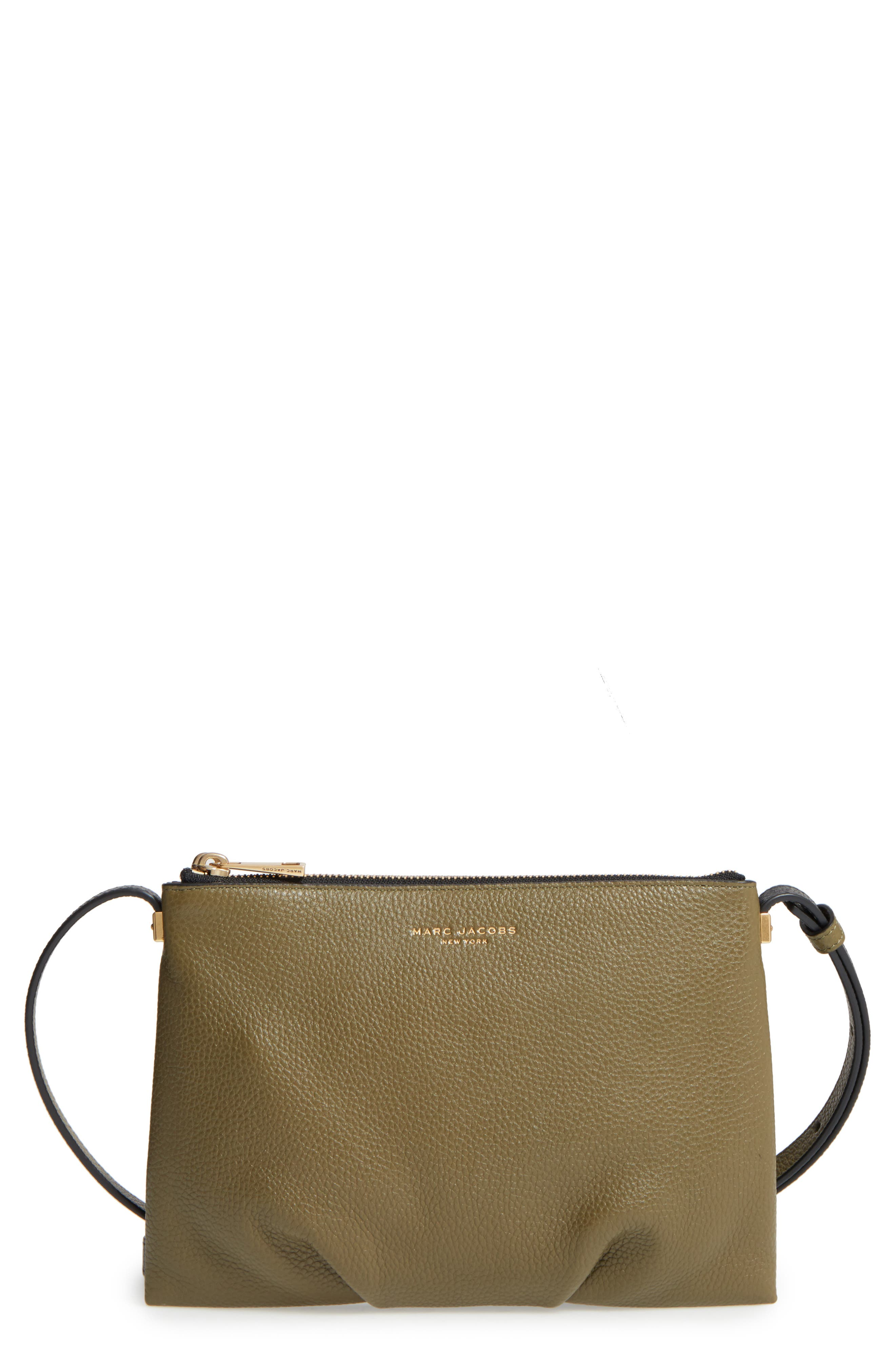 Main Image - MARC JACOBS The Standard Leather Crossbody Bag