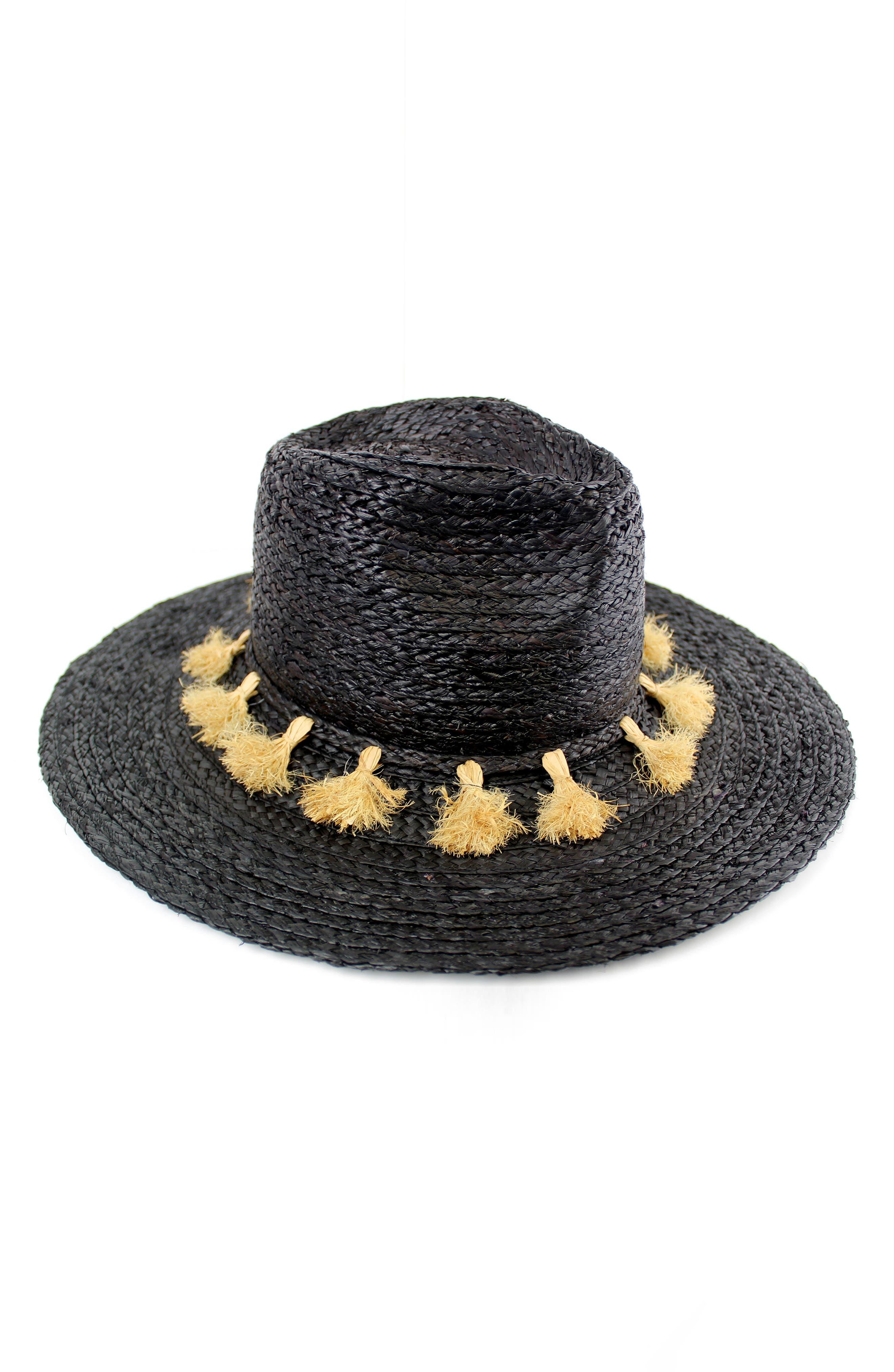 Michael Stars Mystros Tassel Panama Hat