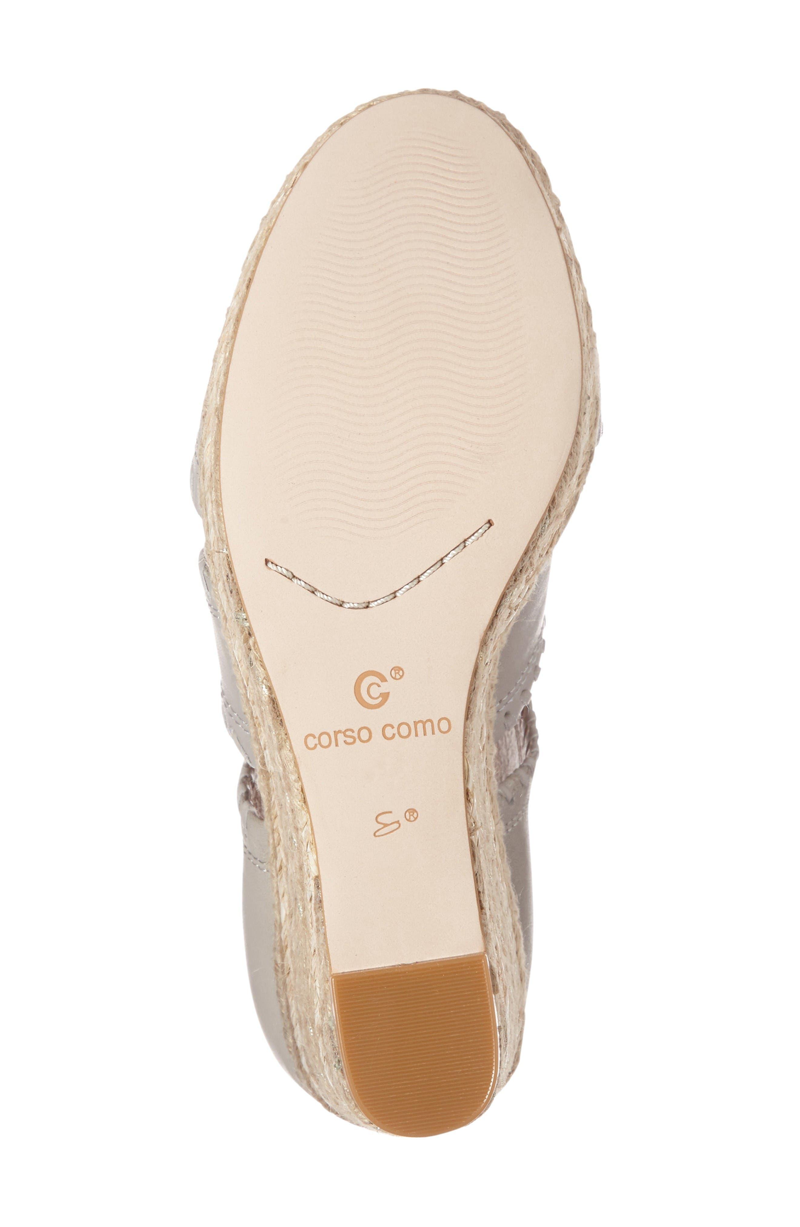Alternate Image 4  - Corso Como Joyce Wedge Sandal (Women)