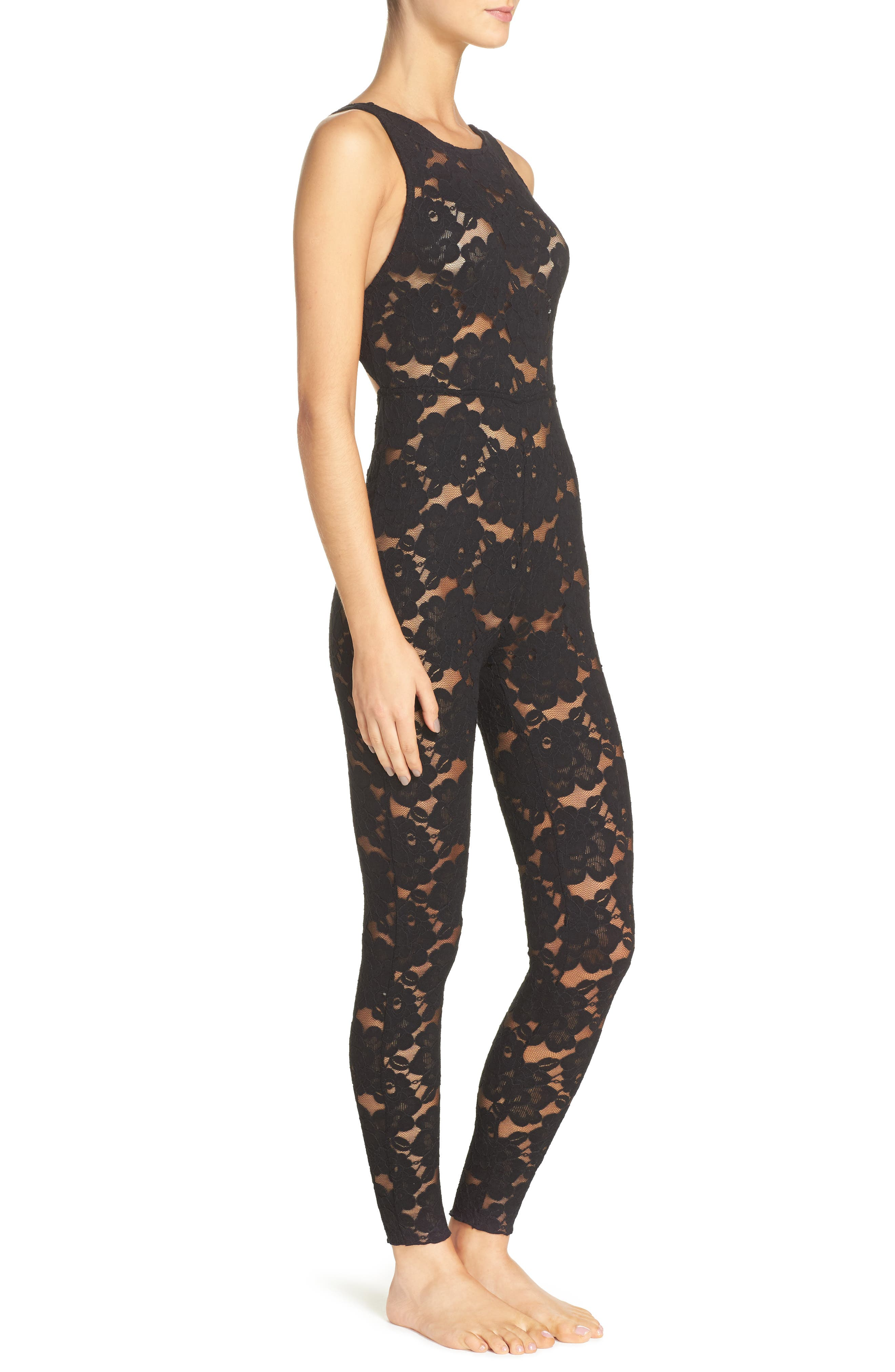 Alternate Image 3  - Free People Intimately FP Lovely Lace Bodysuit