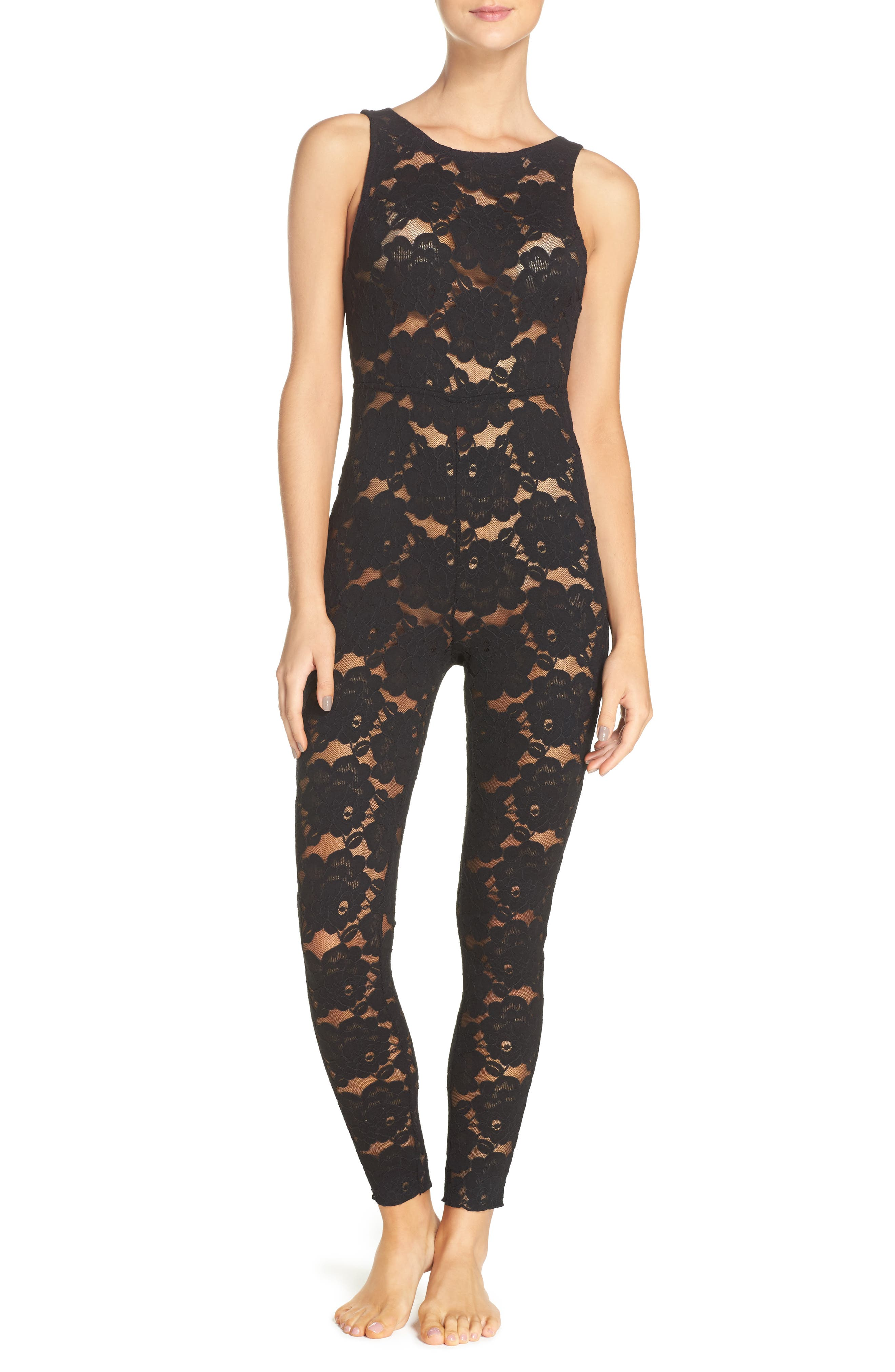 Alternate Image 1 Selected - Free People Intimately FP Lovely Lace Bodysuit