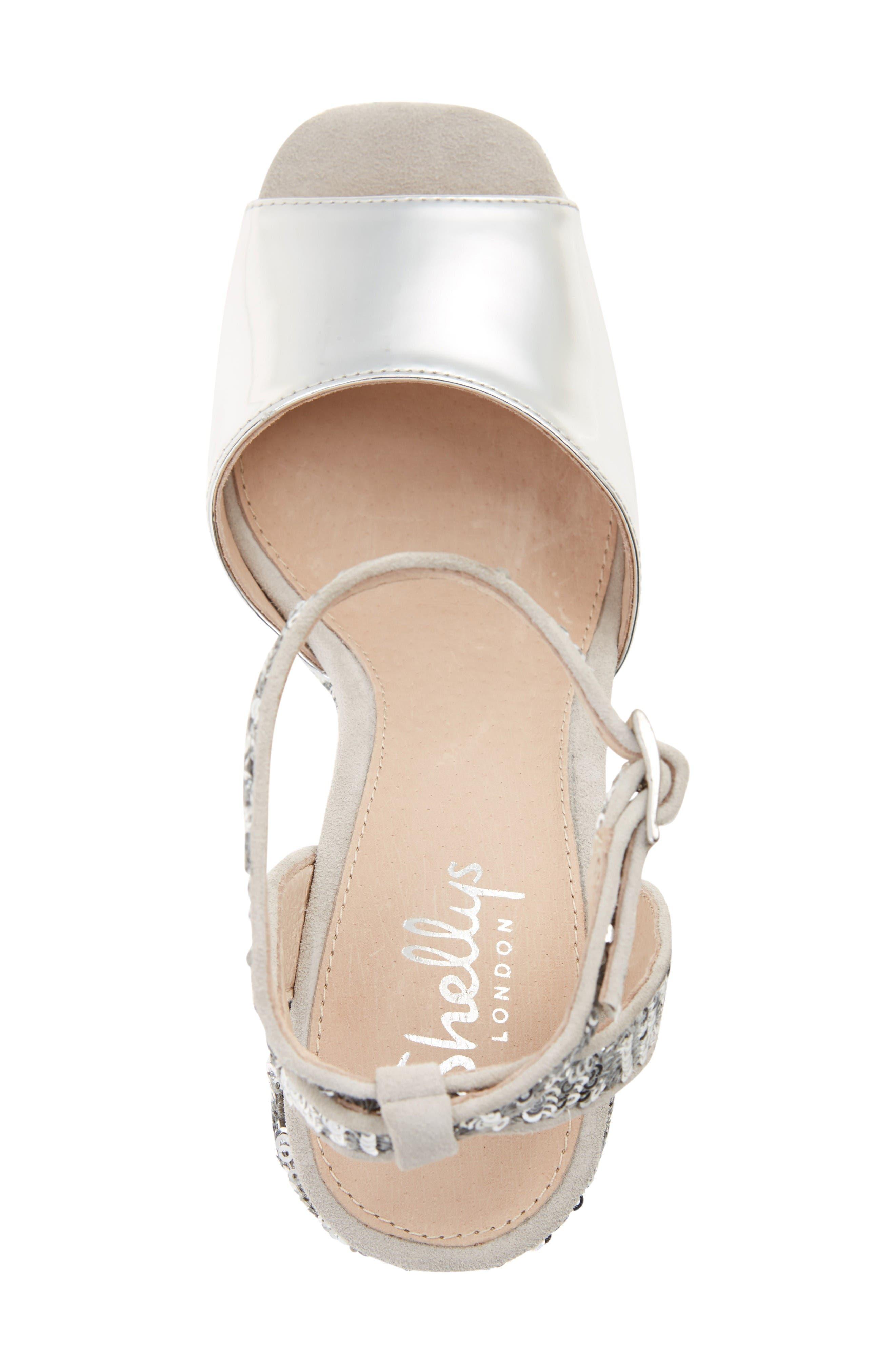 Alternate Image 3  - Shellys London Dena Sequin Platform Sandal (Women)