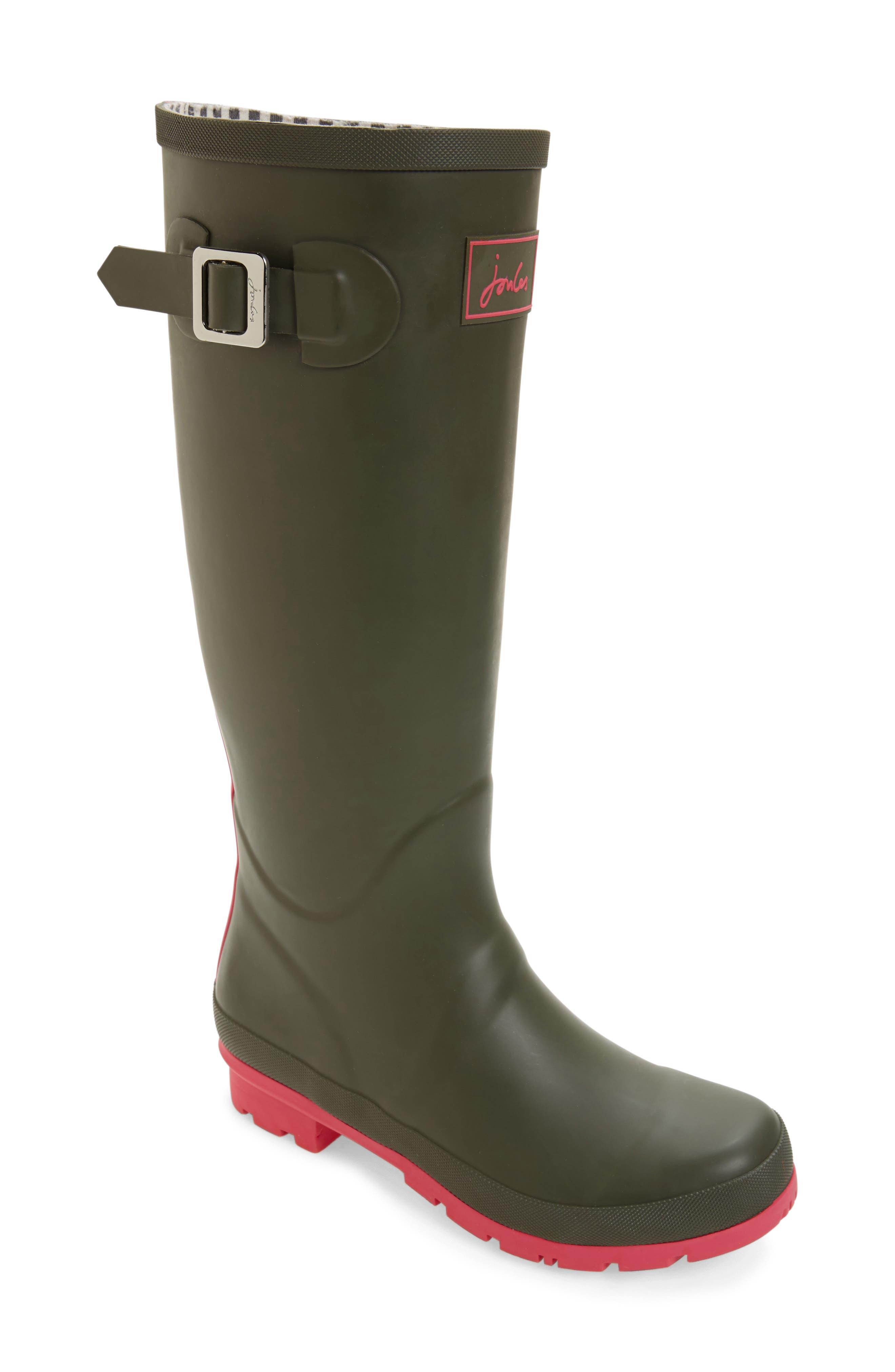 Joules 'Field Welly' Rain Boot (Women)