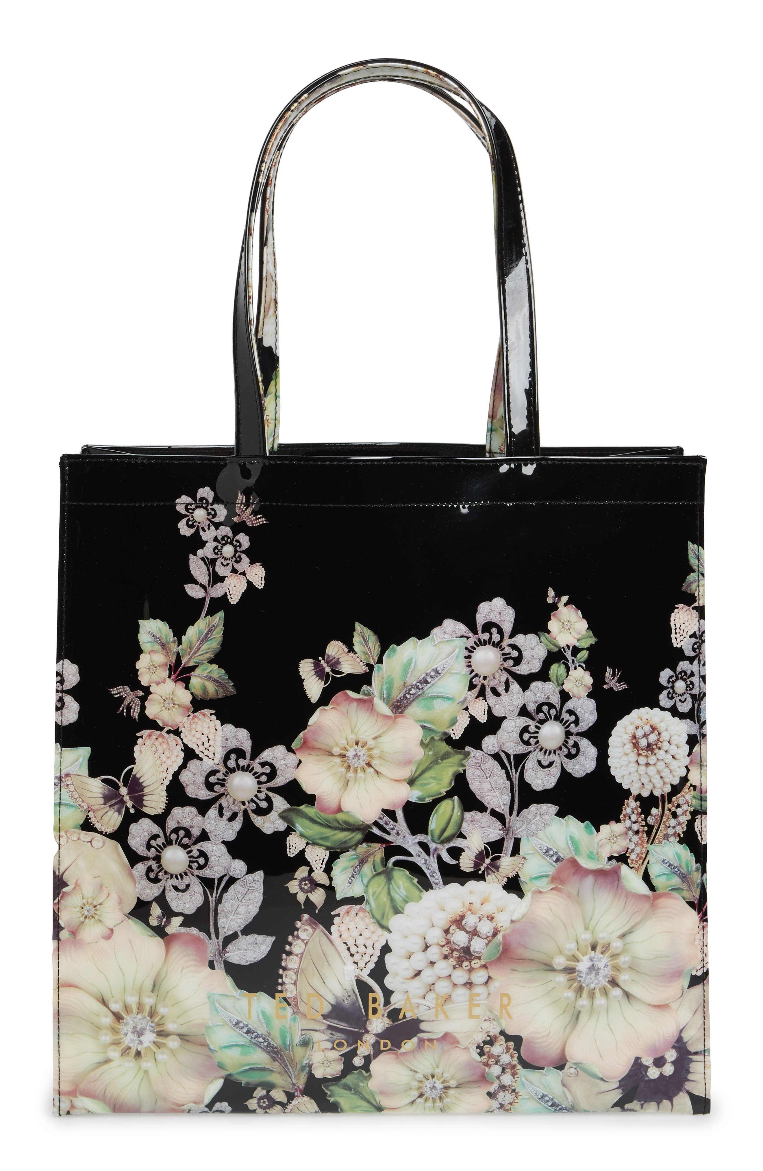 Alternate Image 2  - Ted Baker London Gem Gardens Large Icon Tote